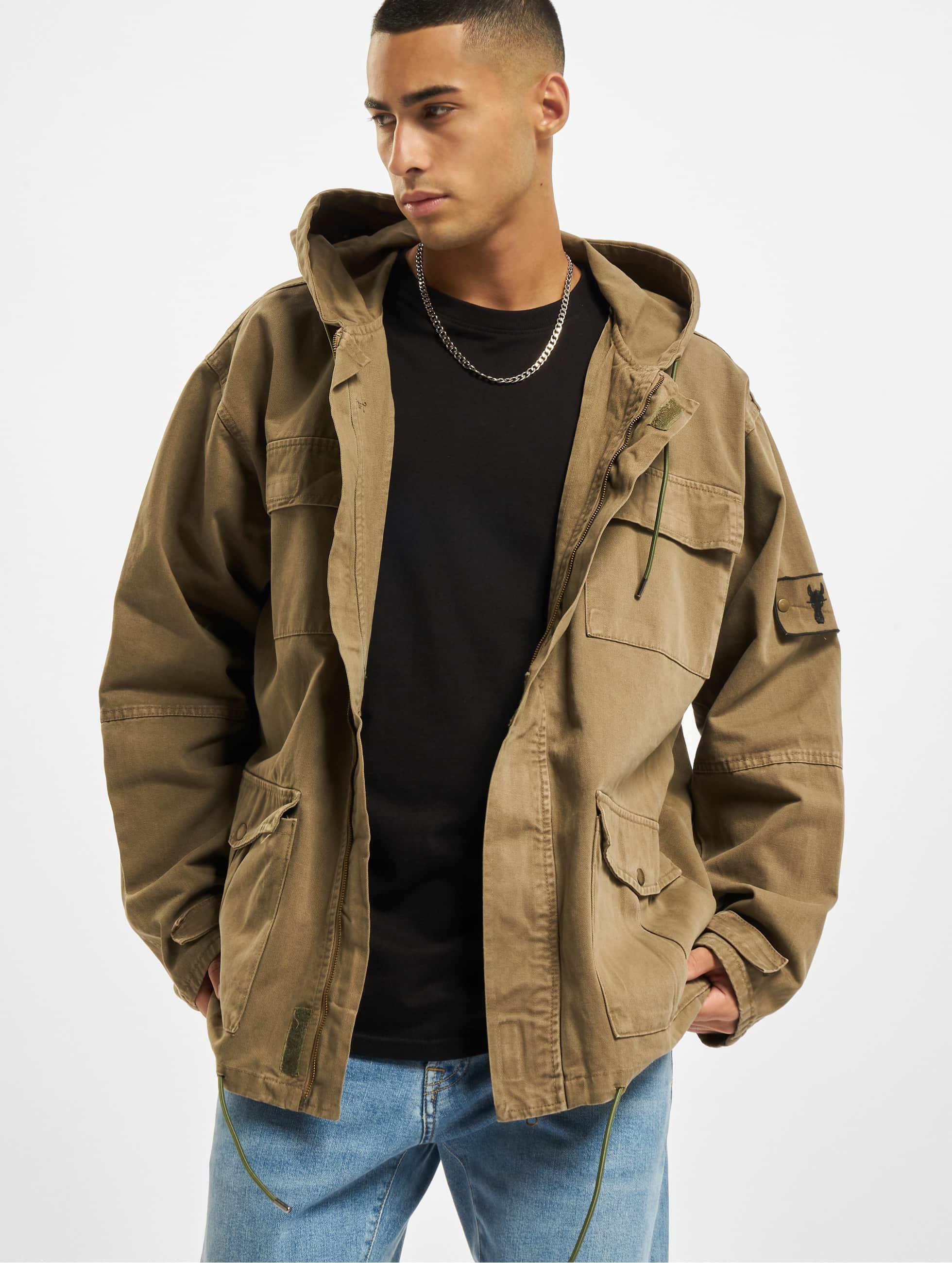 Cavallo de Ferro / Lightweight Jacket Oversized in olive XL