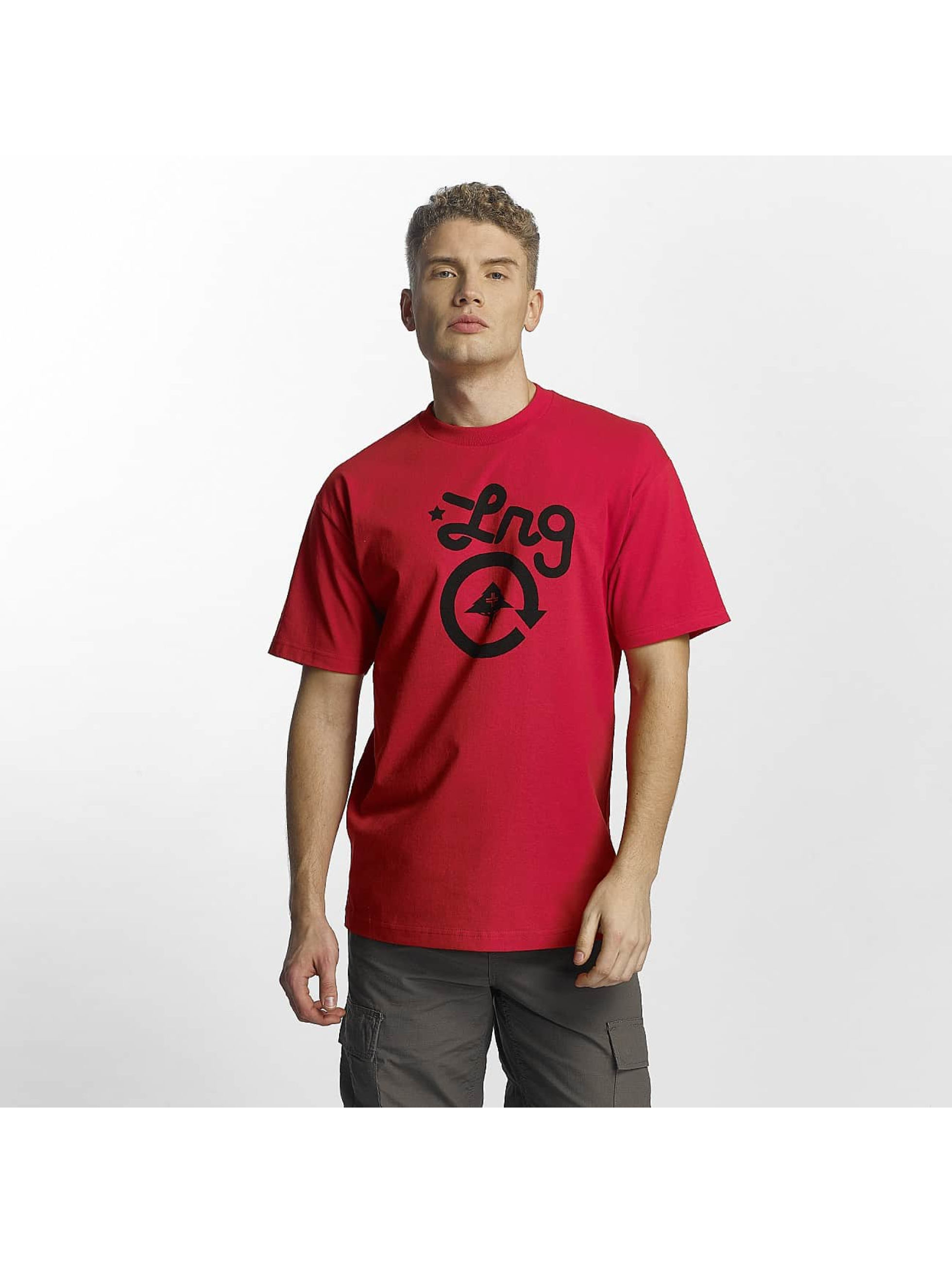 LRG Männer T-Shirt Cycle Logo in rot