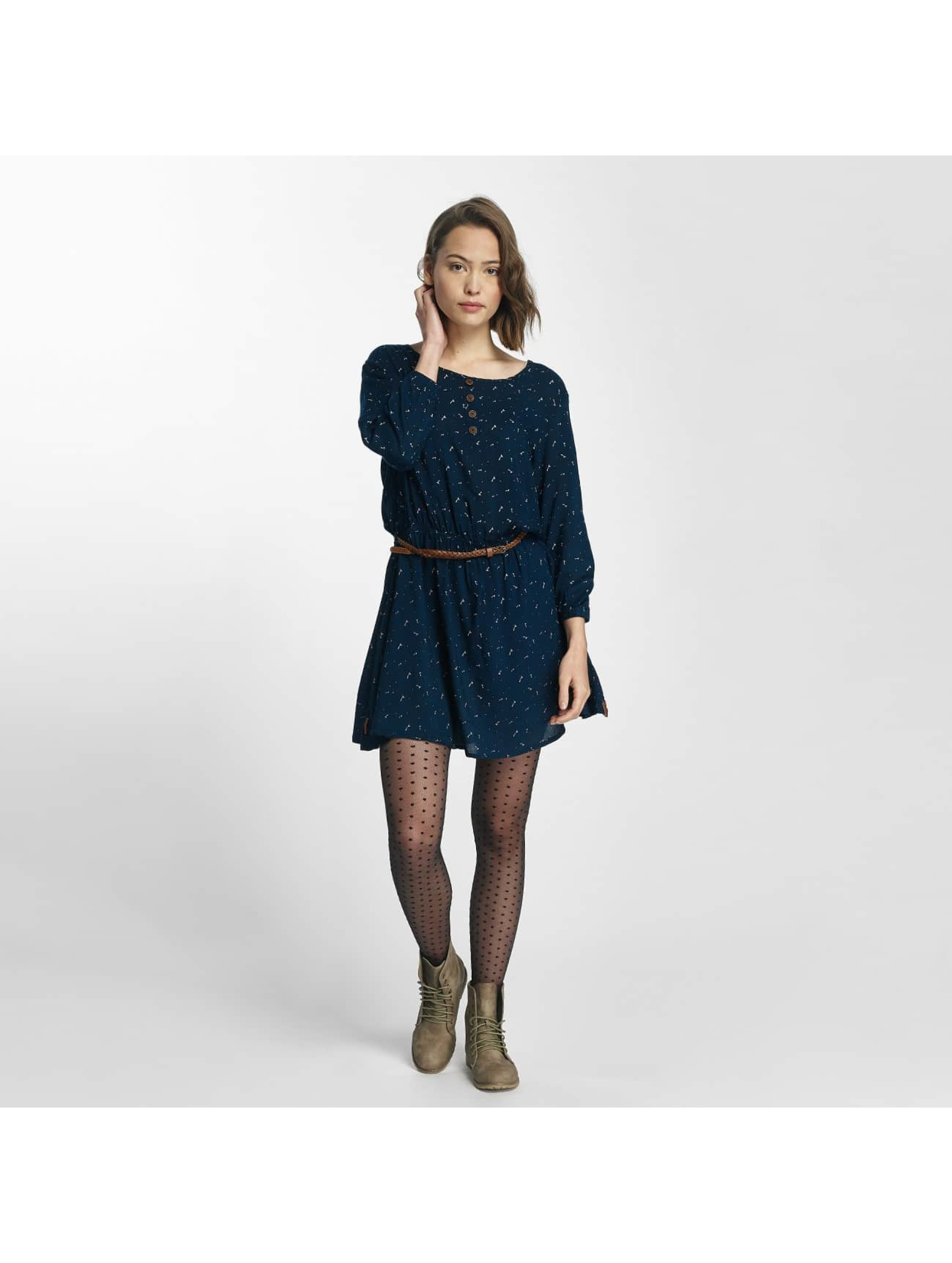 Alife & Kickin Frauen Kleid Scarlett in blau