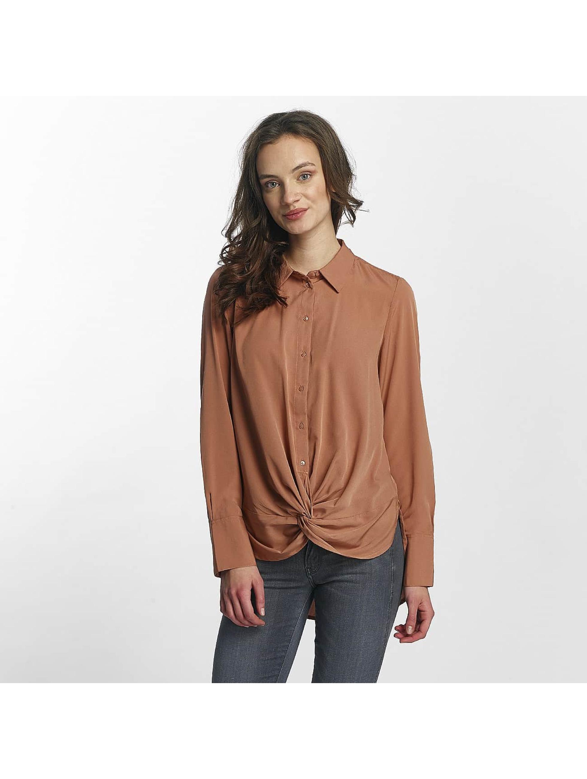 Vero Moda Frauen Hemd vmBind in braun