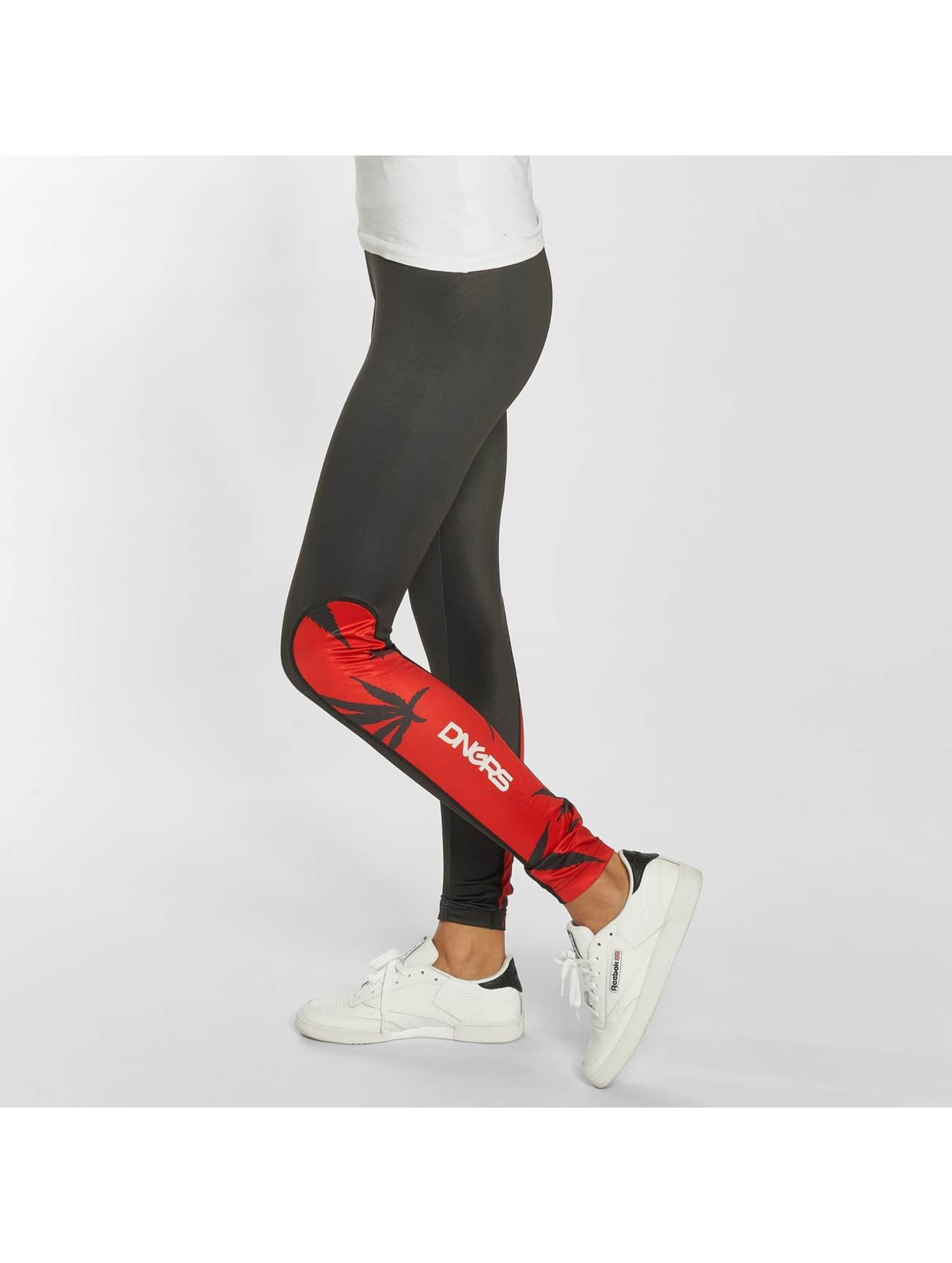 Dangerous DNGRS / Legging/Tregging Woodpeace in red XS