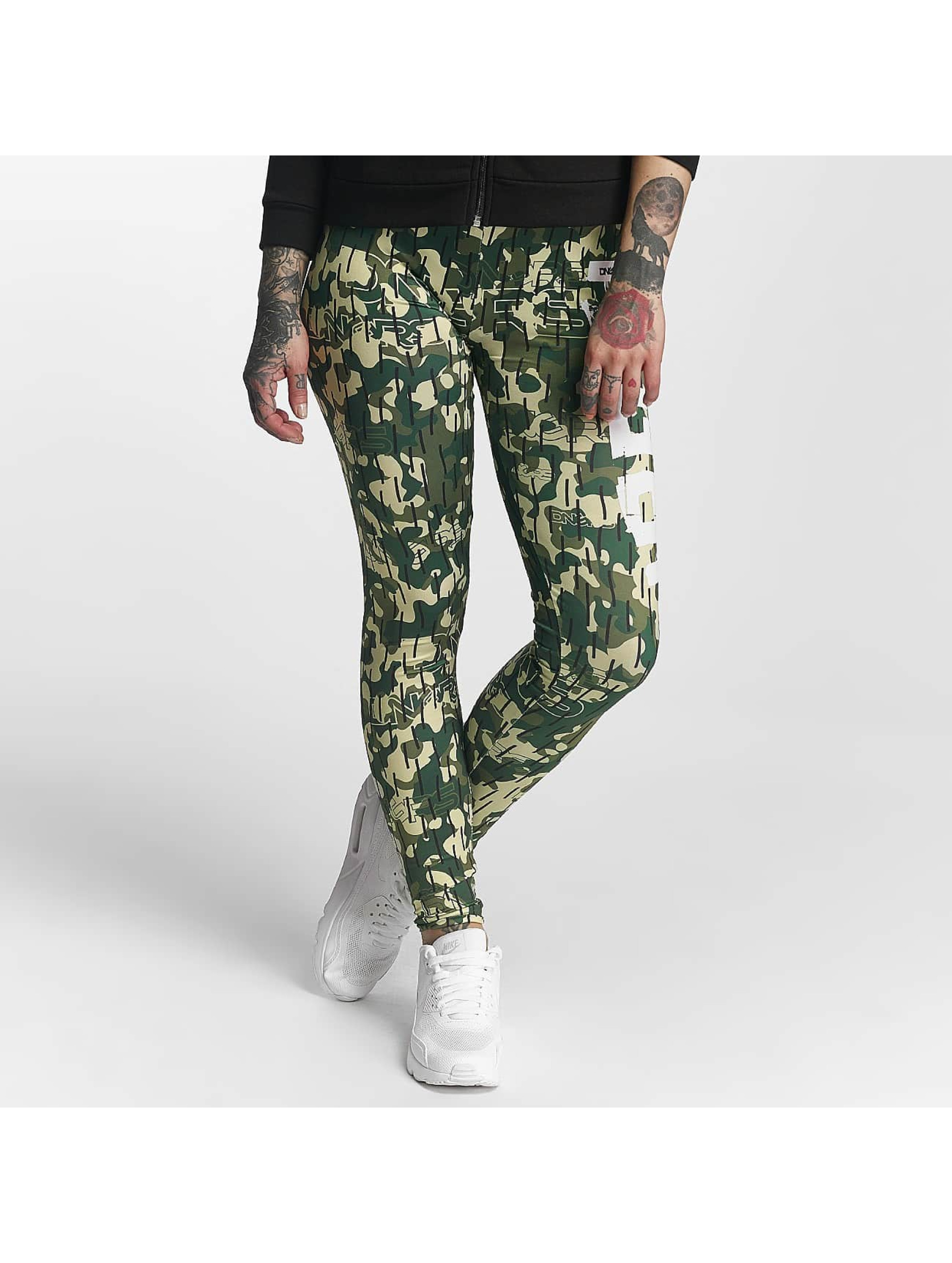 Dangerous DNGRS / Legging/Tregging Smear in camouflage XS