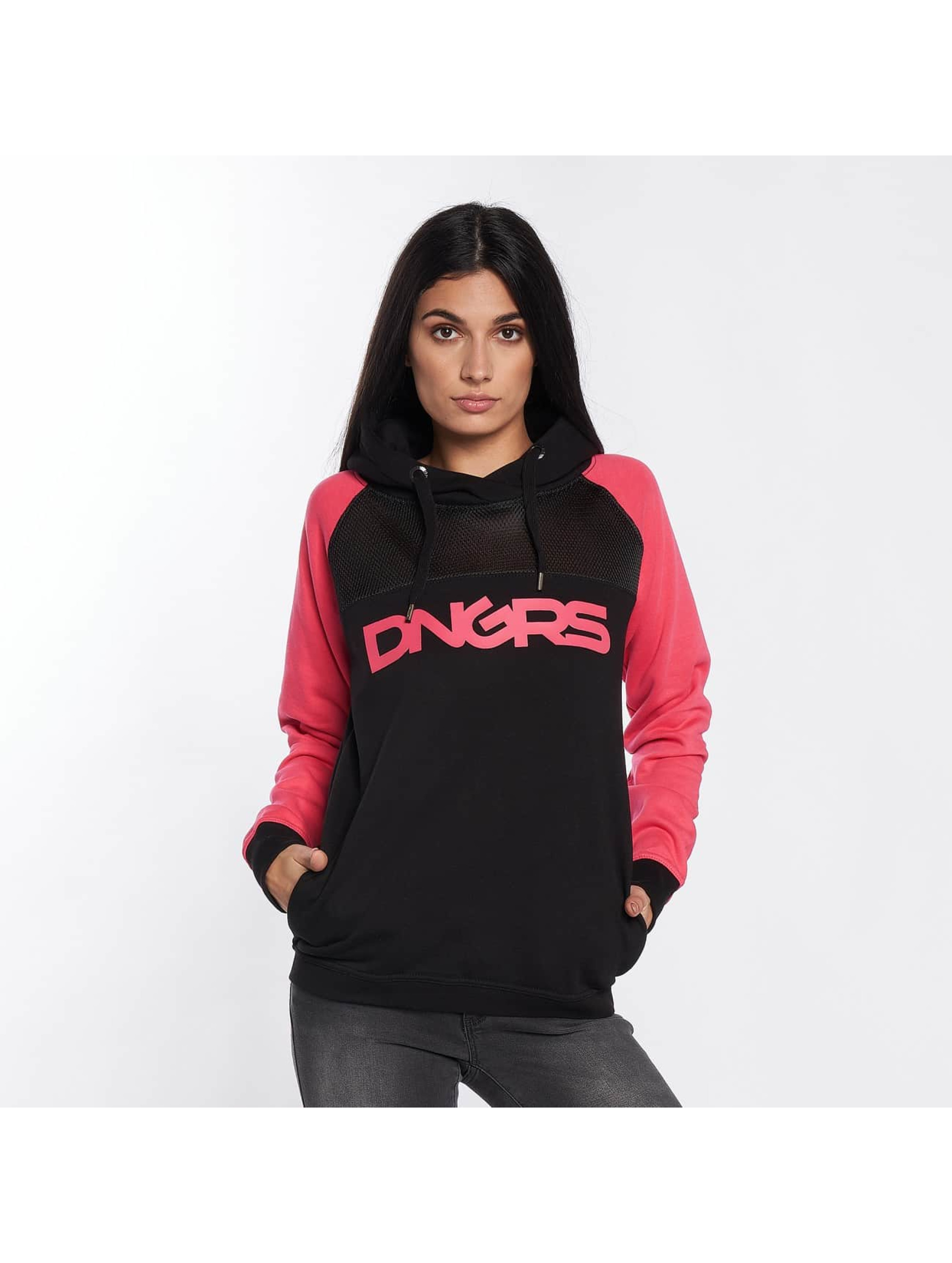 Dangerous DNGRS / Hoodie Jelly in pink XS
