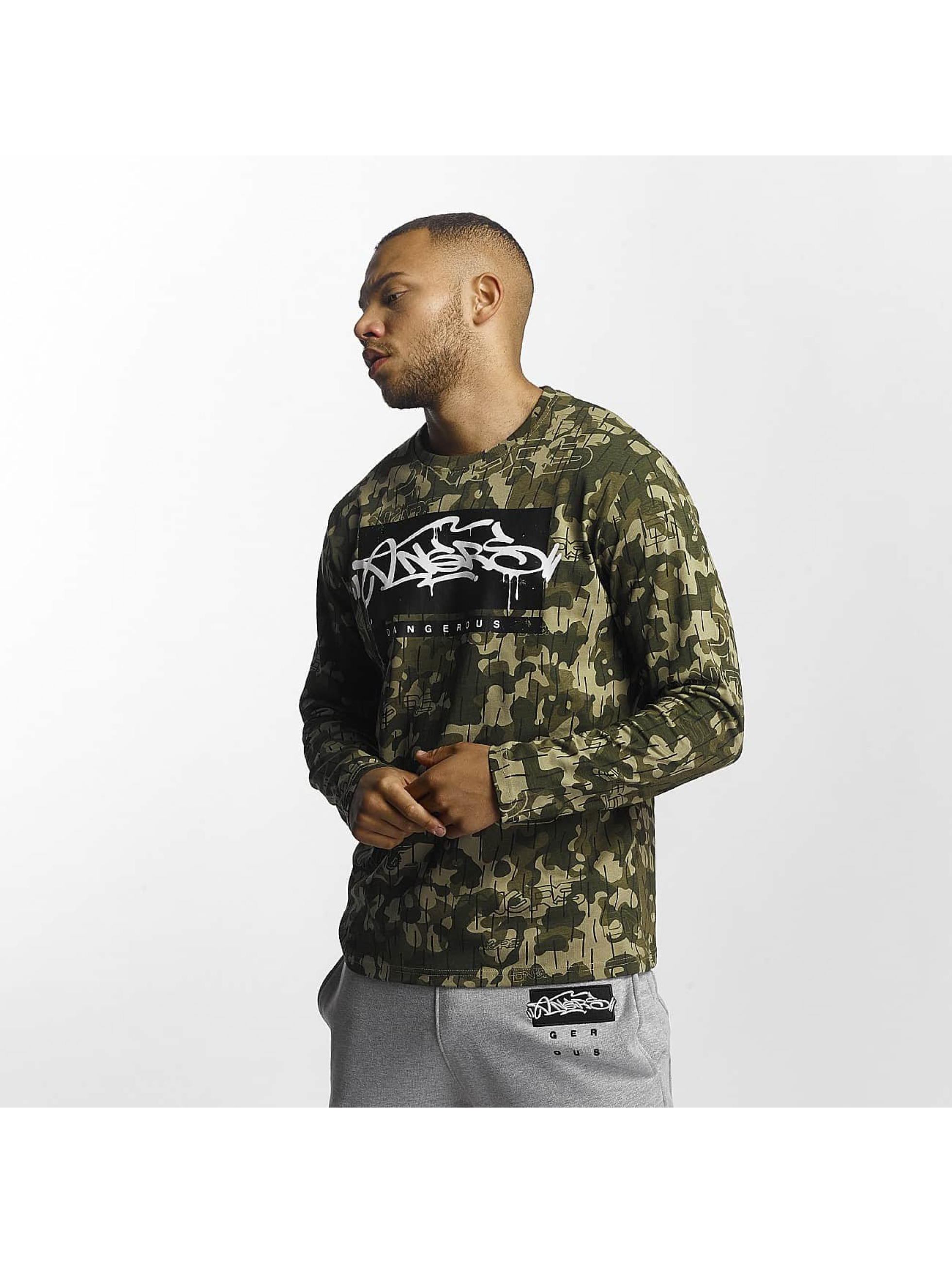 Dangerous DNGRS / Longsleeve Topping in camouflage XL