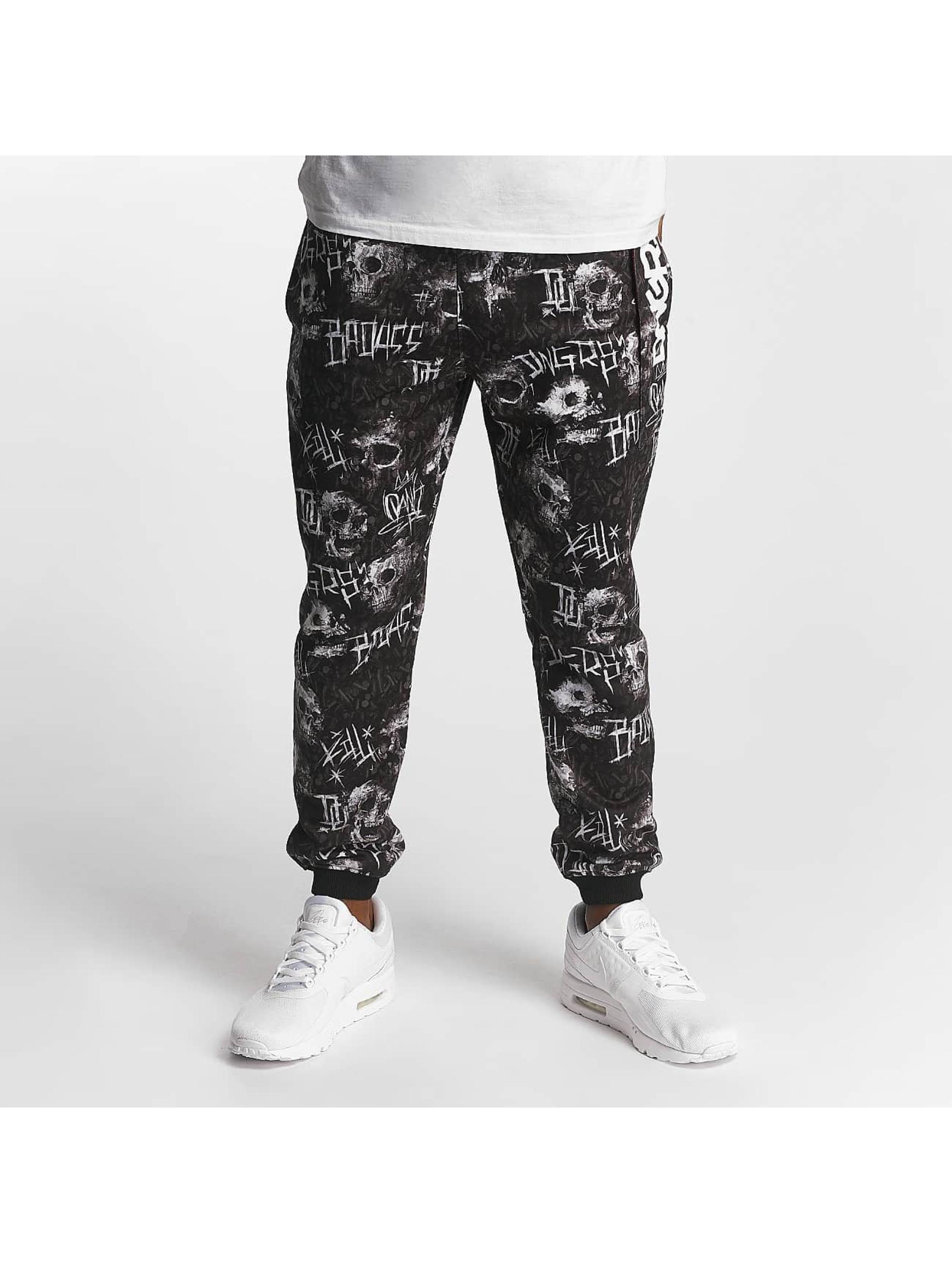 Dangerous DNGRS / Sweat Pant Bulet in black 3XL