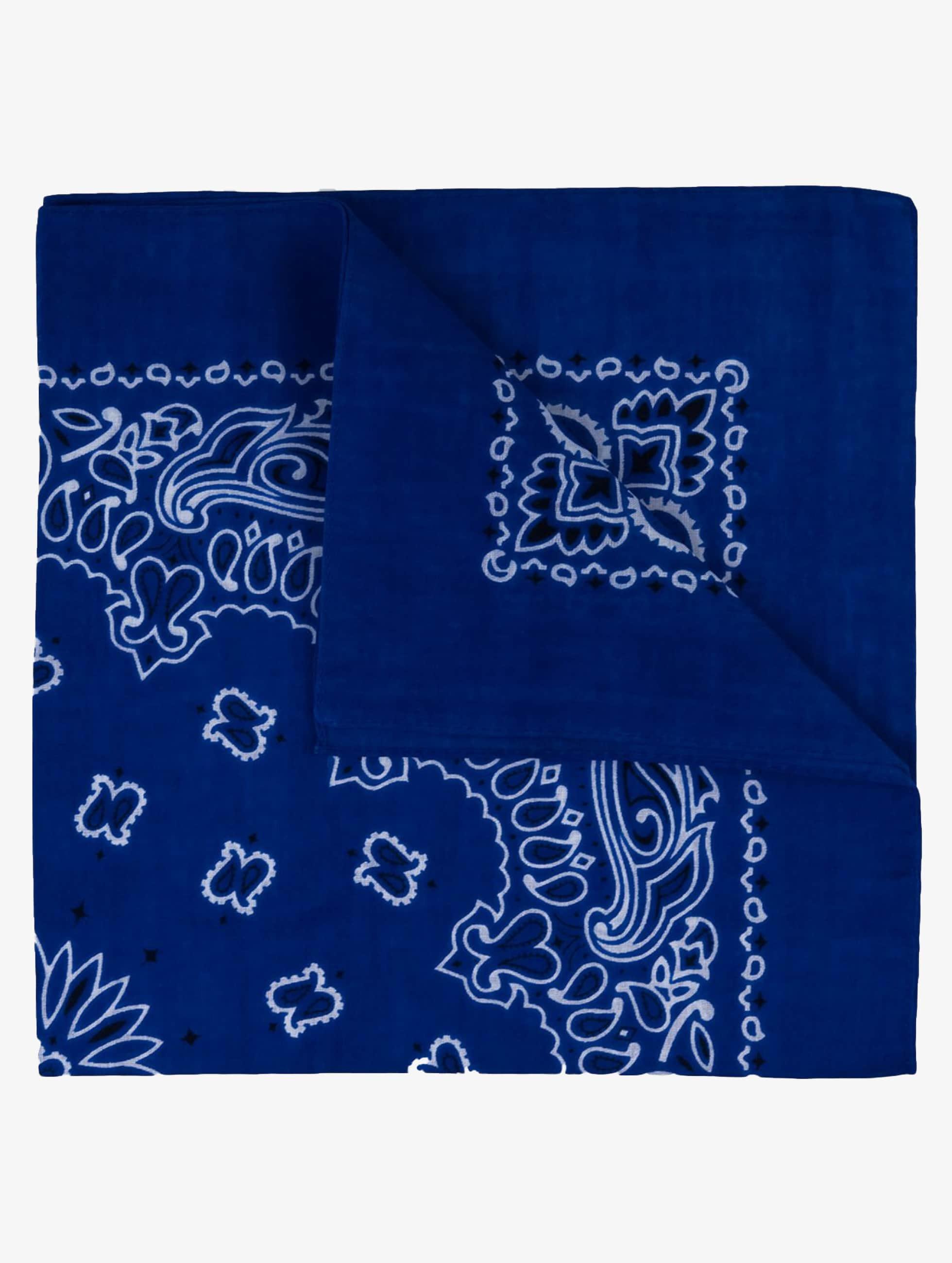 MSTRDS Männer,Frauen Bandana Printed in blau