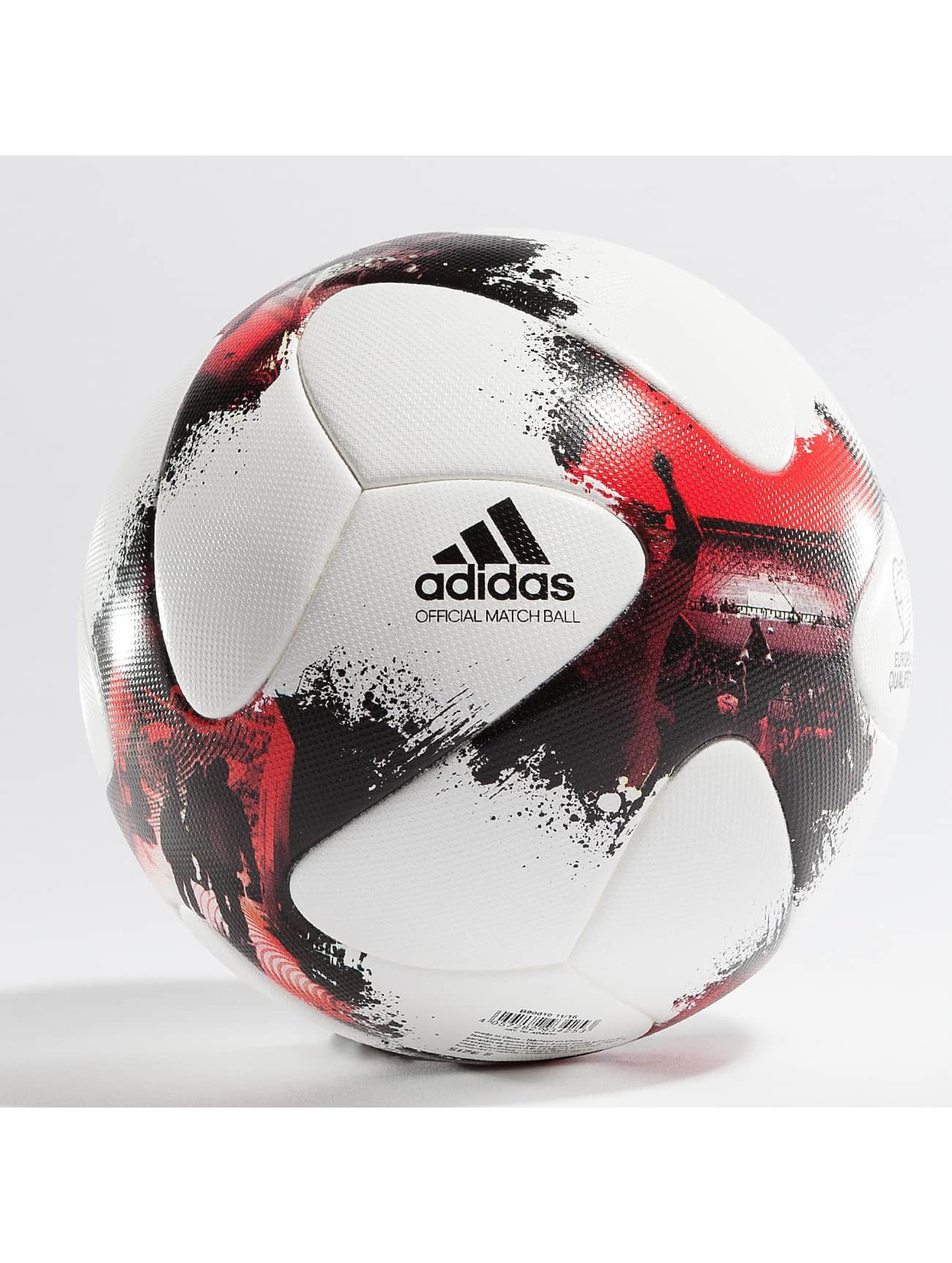 adidas Performance Männer,Frauen,Kinder Ball European Qualifiers Offical Match Ball in weiß