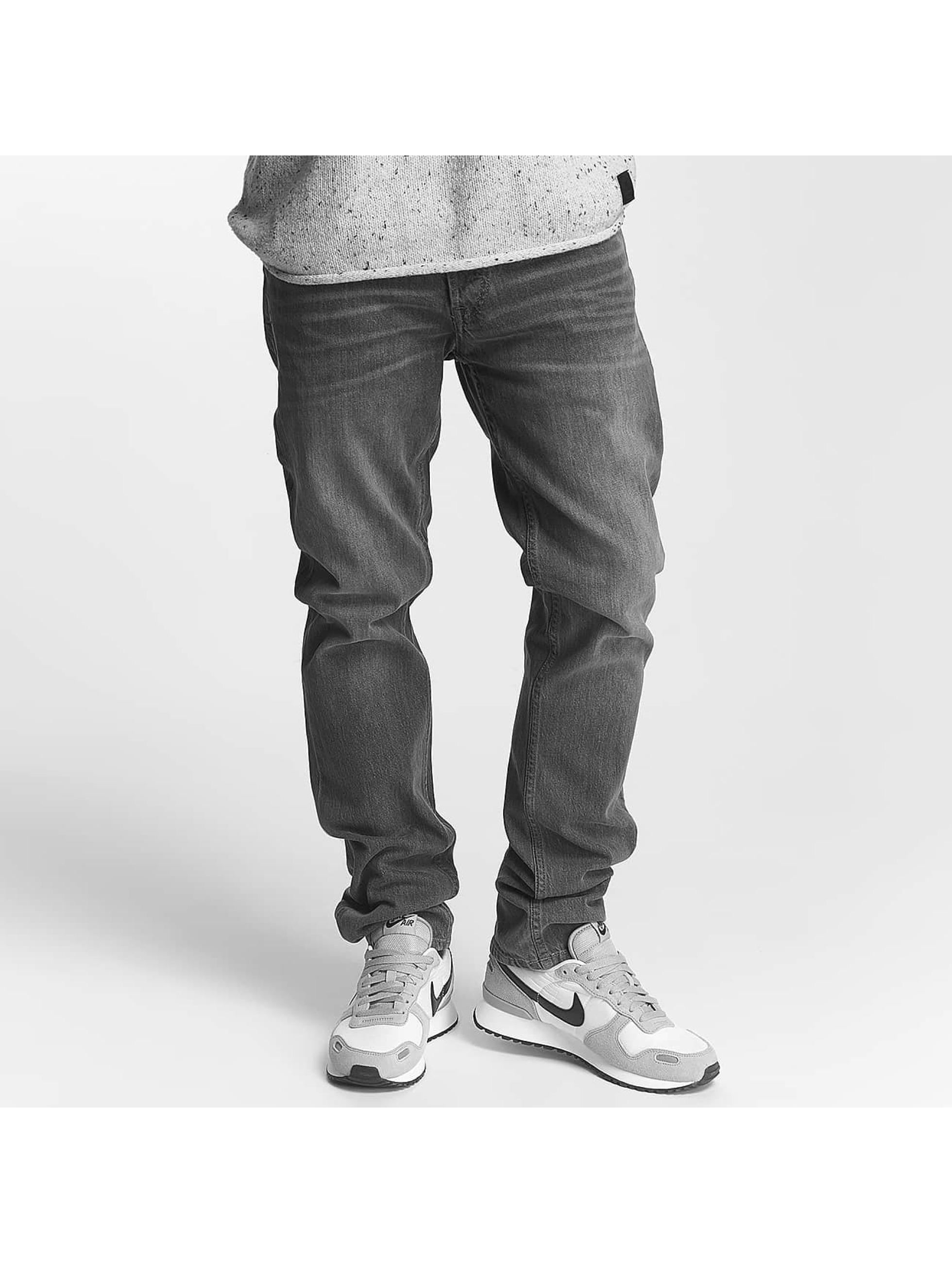 Jack & Jones Männer Slim Fit Jeans jjiTim jjOriginal in grau