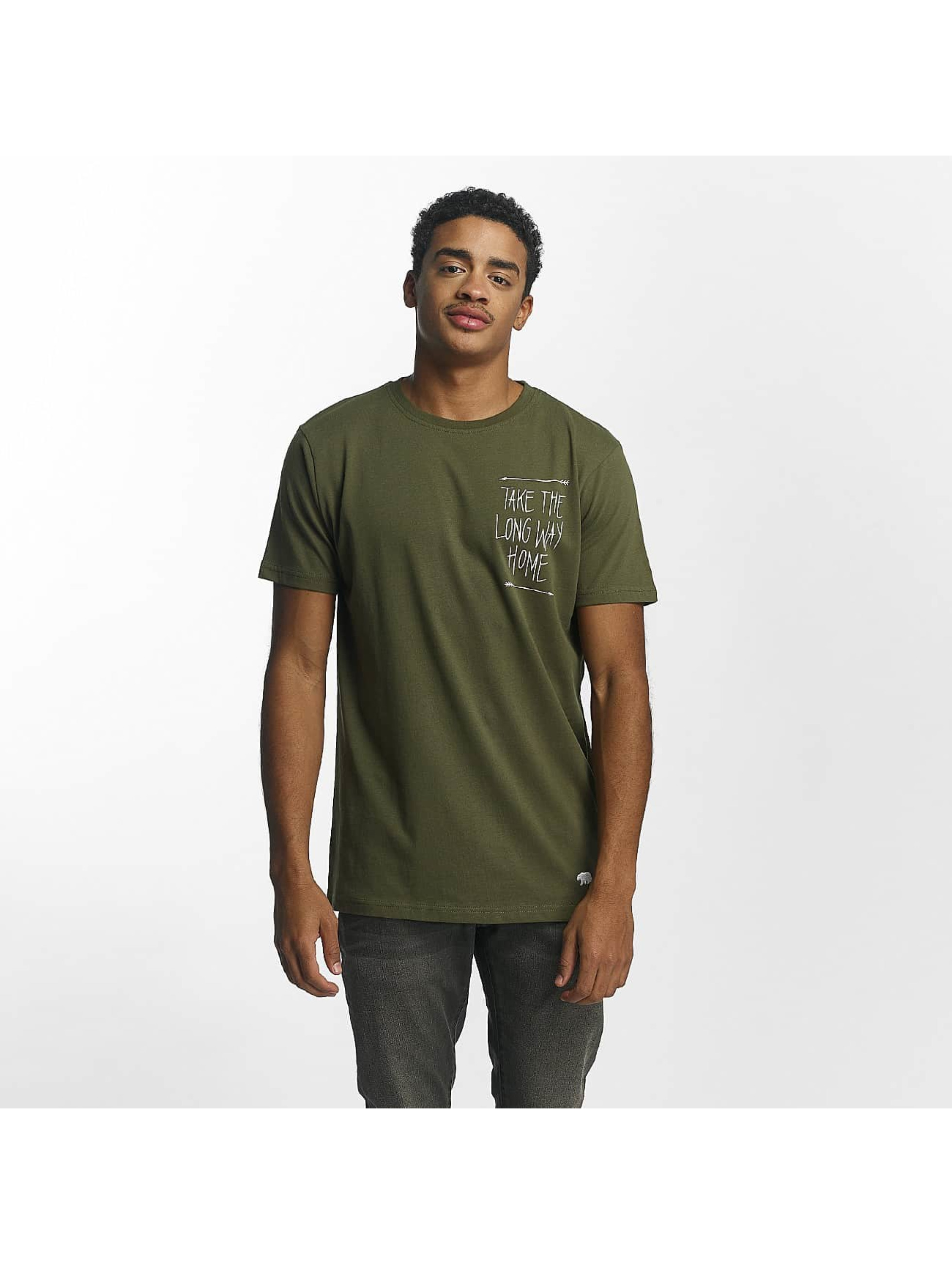 Just Rhyse / T-Shirt Situk in olive 3XL