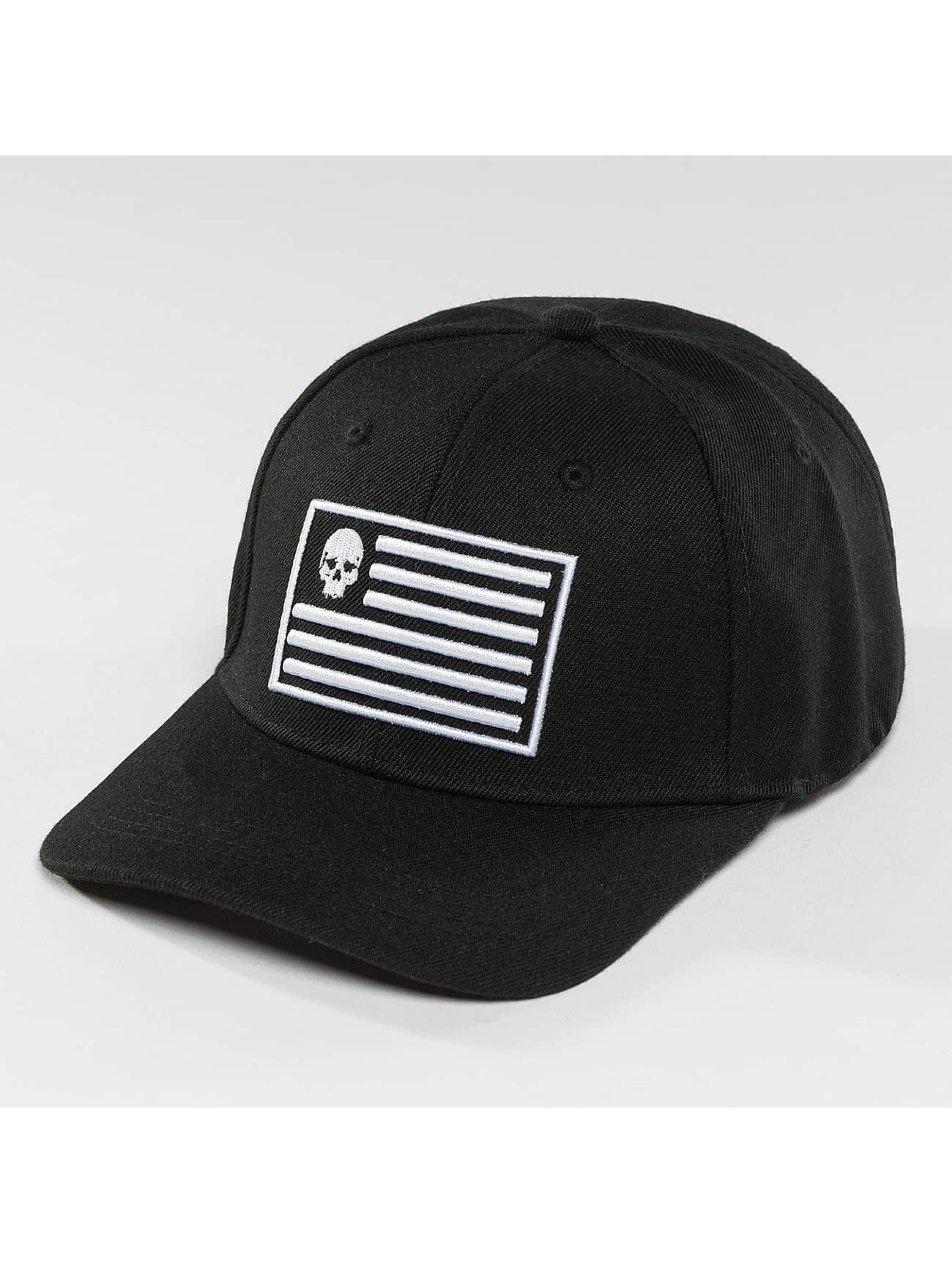 Thug Life / Snapback Cap Flag in black Adjustable