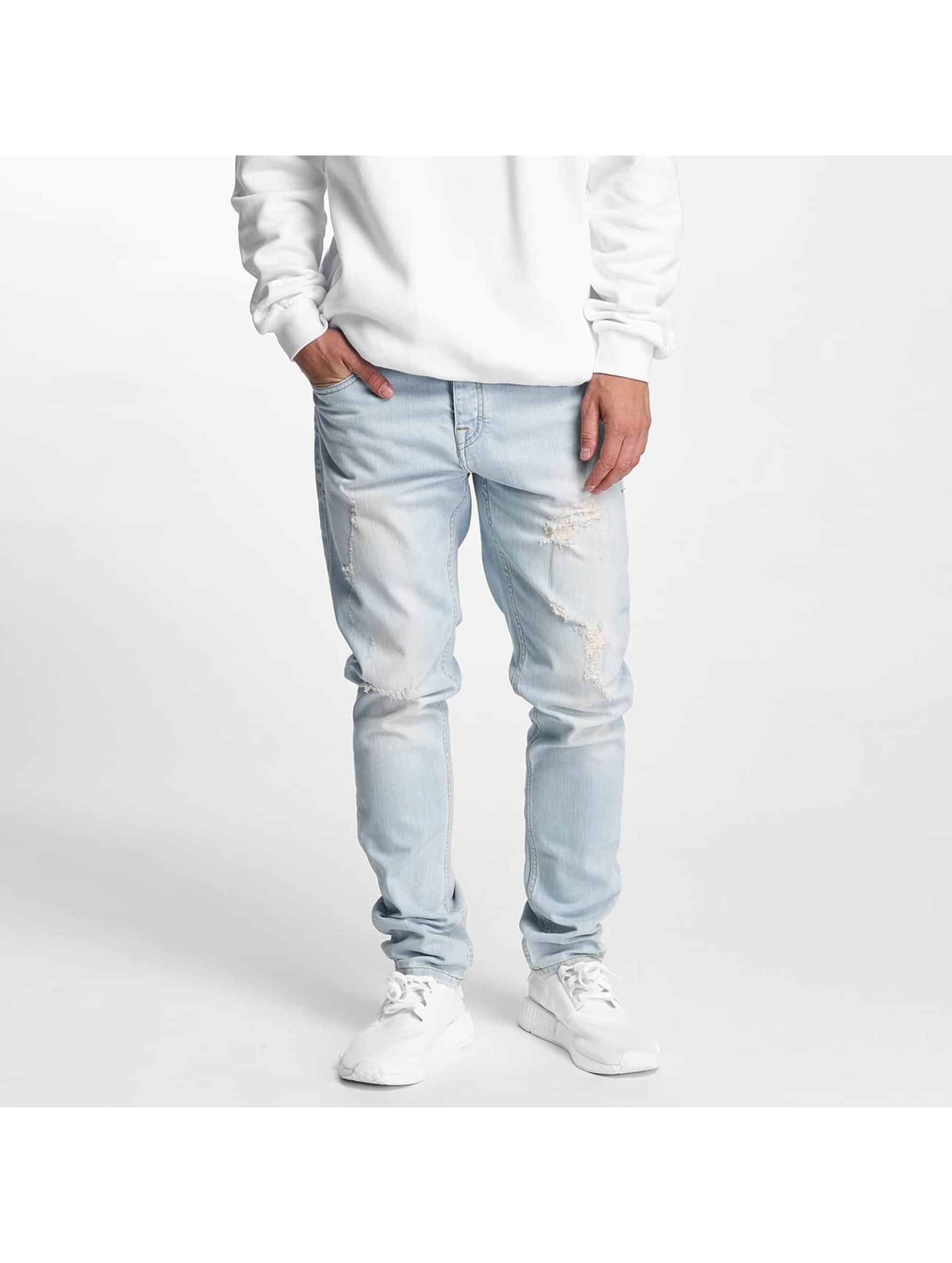Pelle Pelle Männer Slim Fit Jeans Scotty Denim in blau