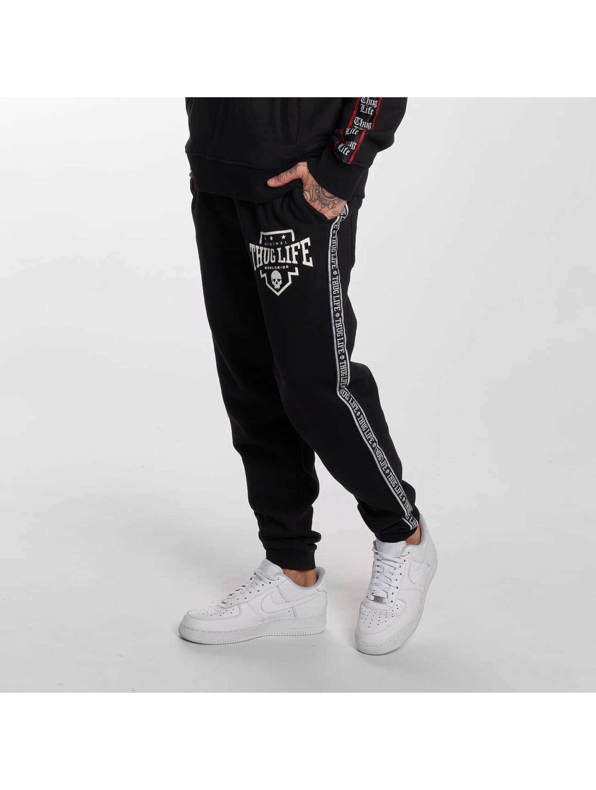 Thug Life / Sweat Pant Worldwide in black XL