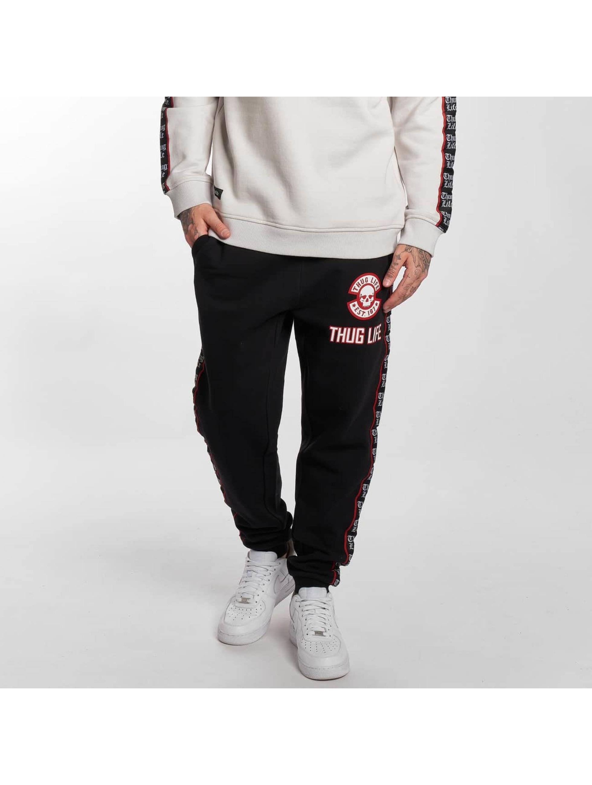 Thug Life / Sweat Pant Lux in black XL