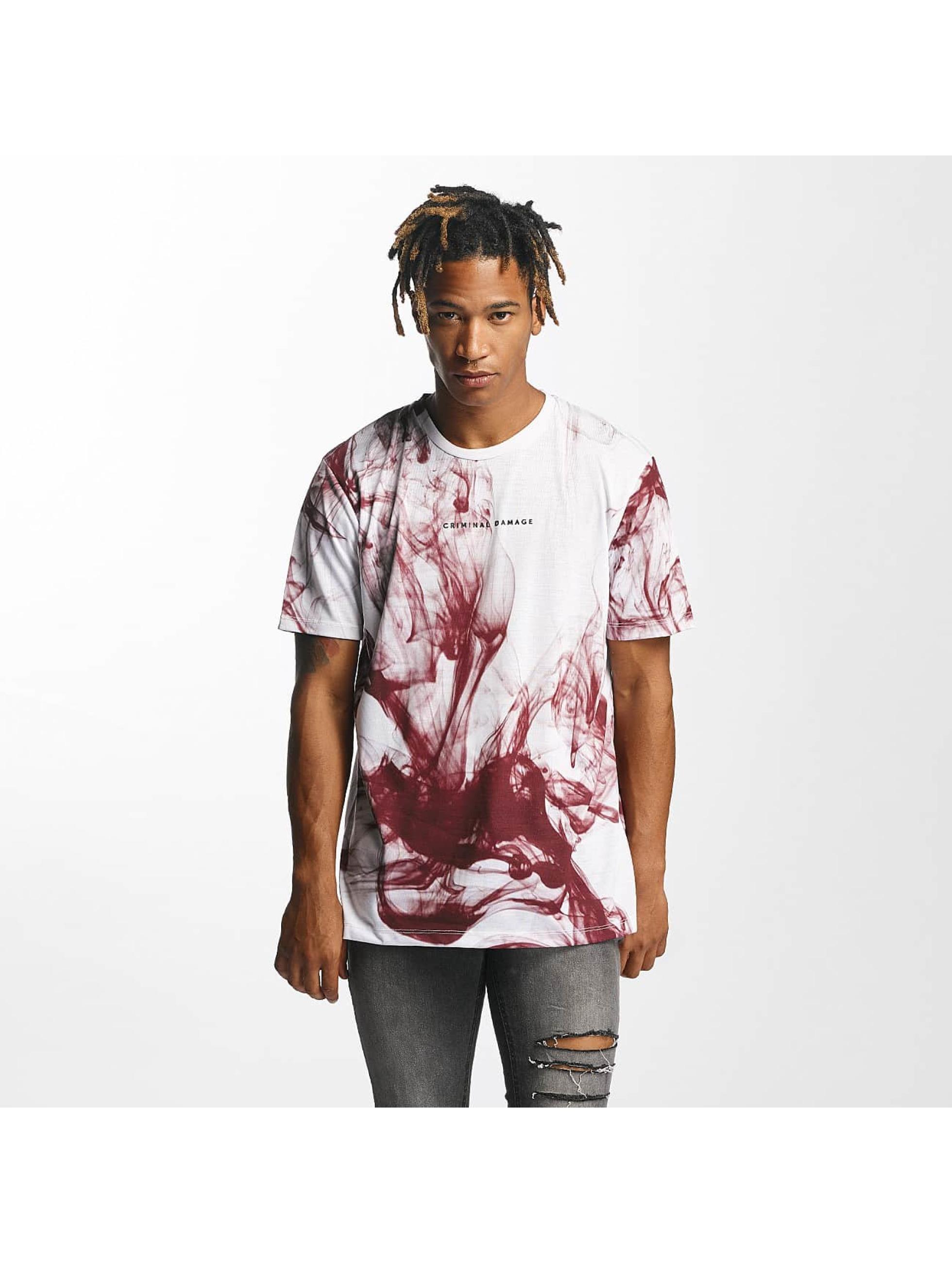 Criminal Damage Männer T-Shirt Haze in weiß