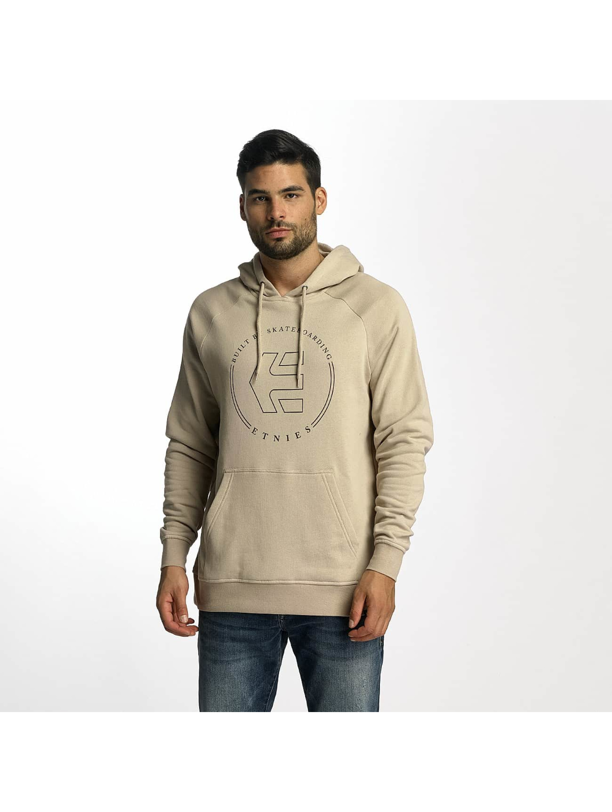 Etnies Männer Hoody On Tap Fleece in beige