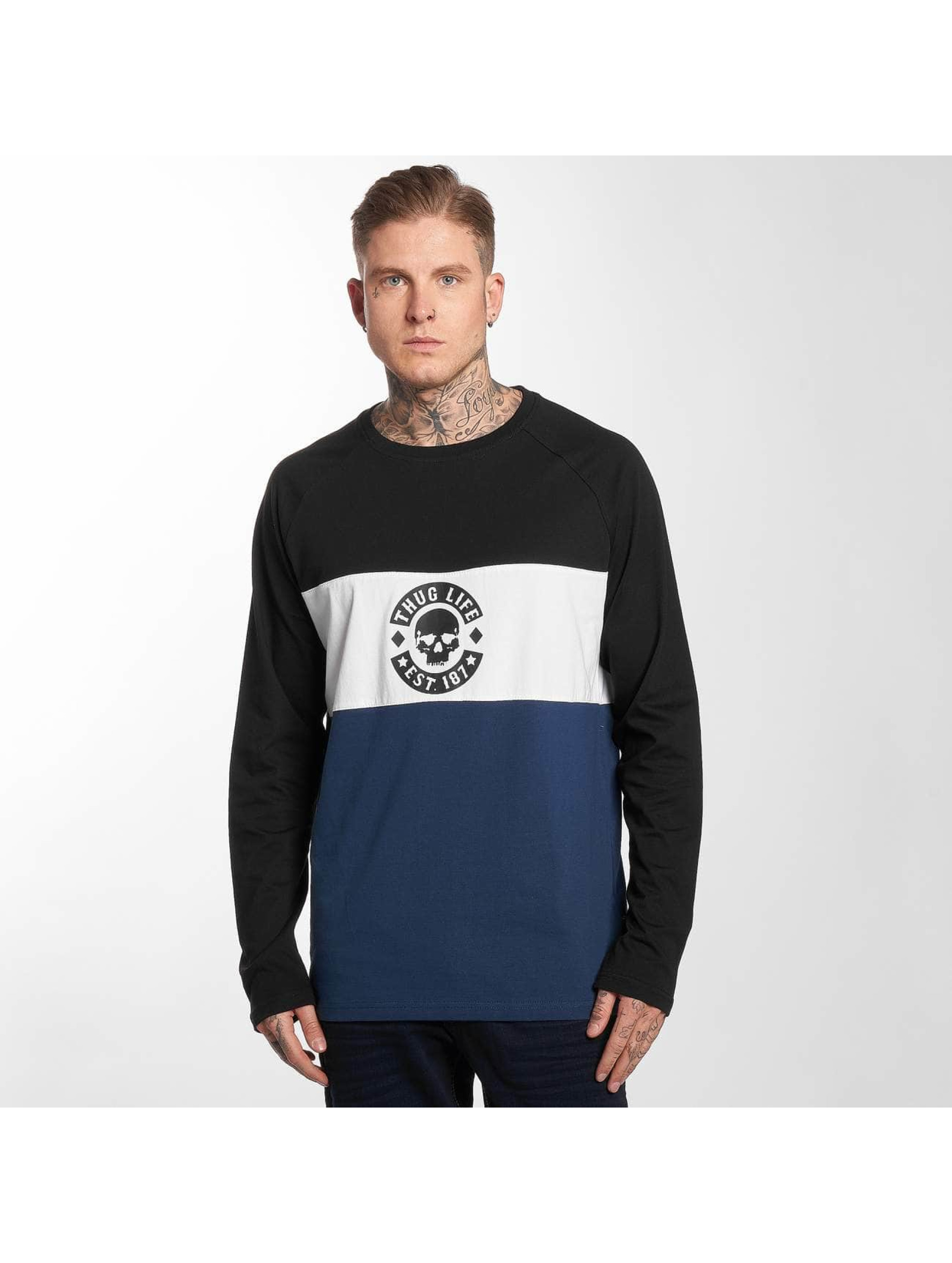 Thug Life / Longsleeve Lion in blue M