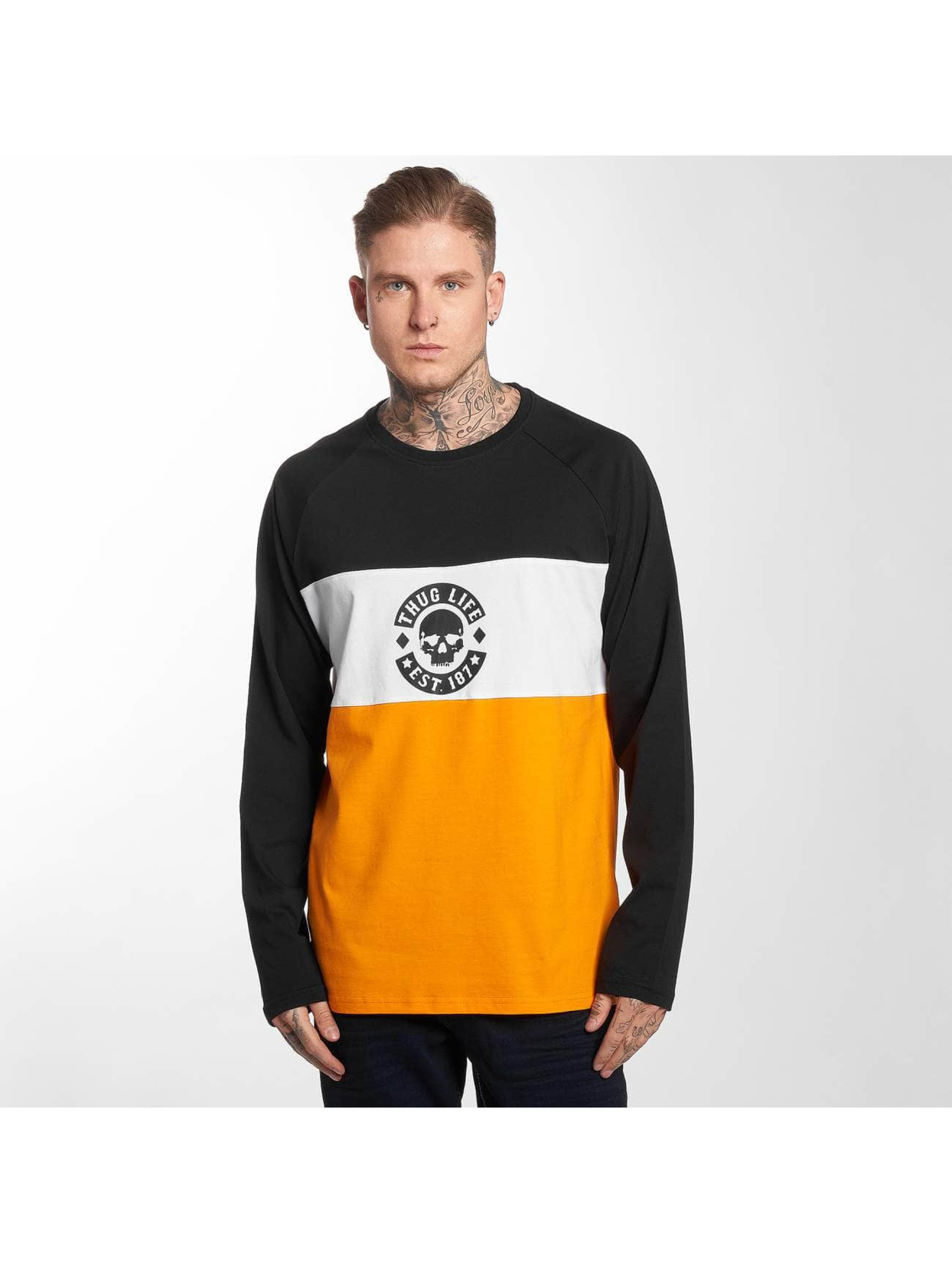Thug Life / Longsleeve Life Lion in orange 3XL