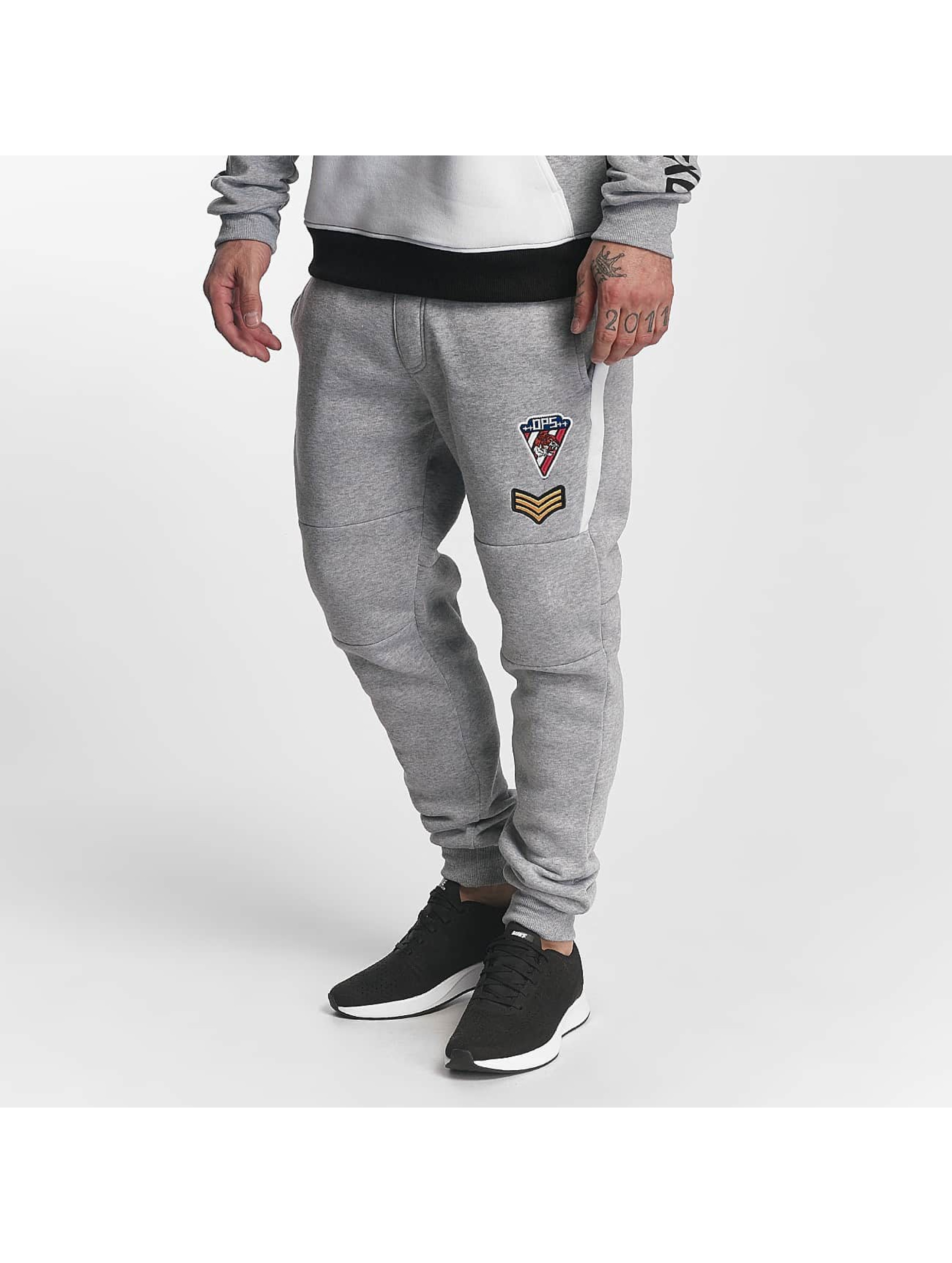 Southpole Männer Jogginghose Patch in grau