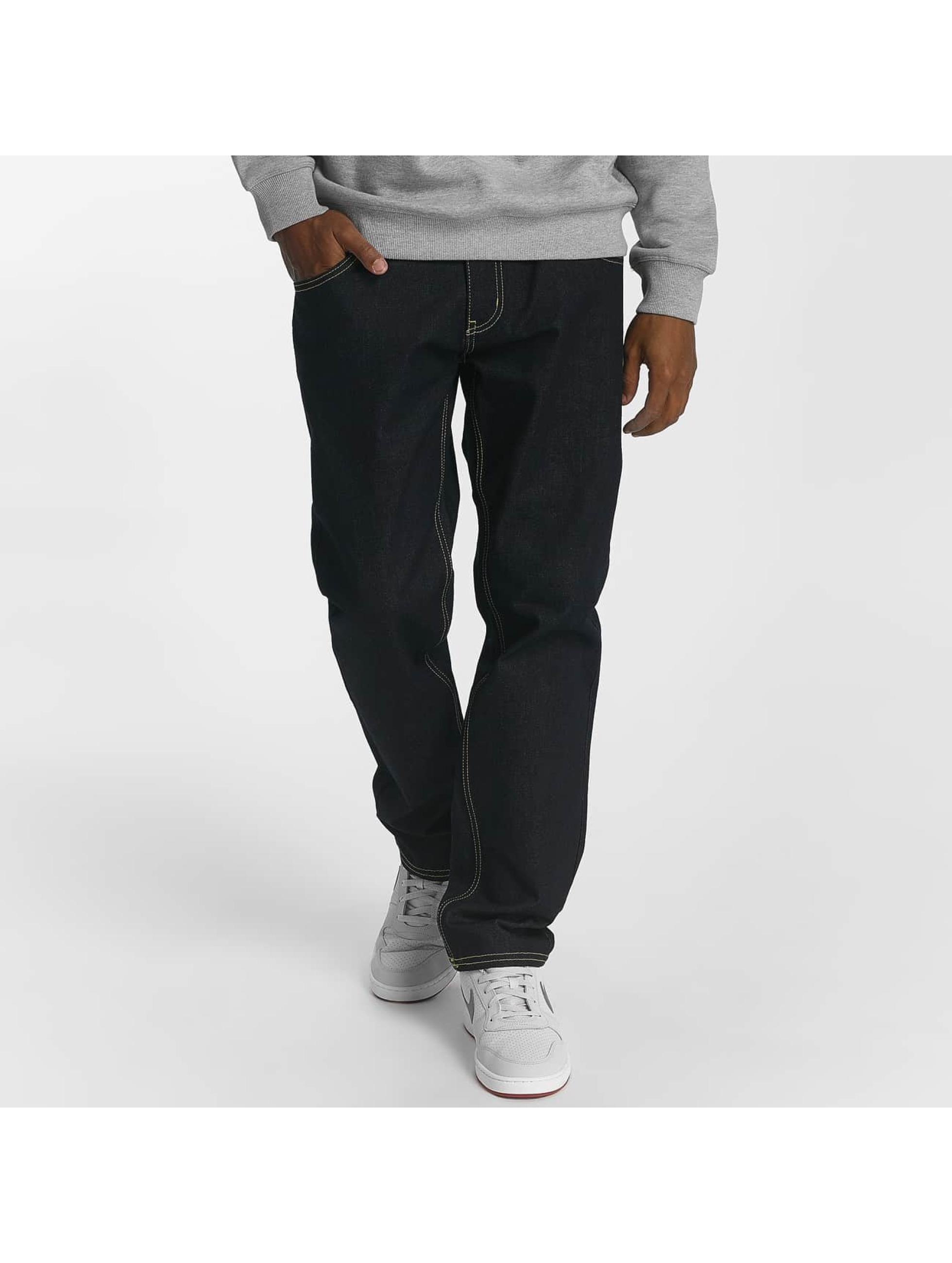 Ecko Unltd. / Straight Fit Jeans Camp's St Straight Fit in indigo W 42 L 34