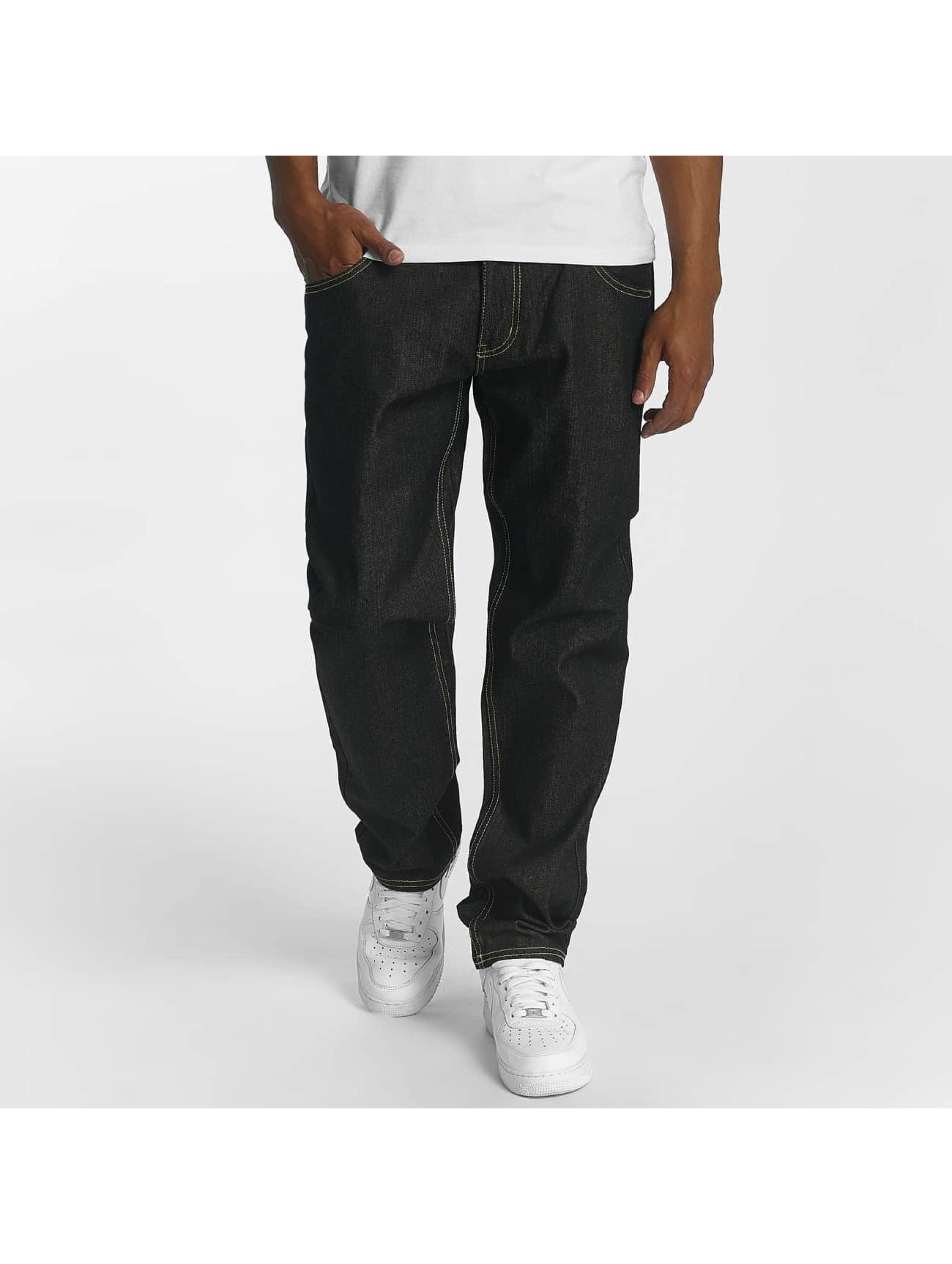Ecko Unltd. / Straight Fit Jeans Camp's St Straight Fit in black W 42 L 34