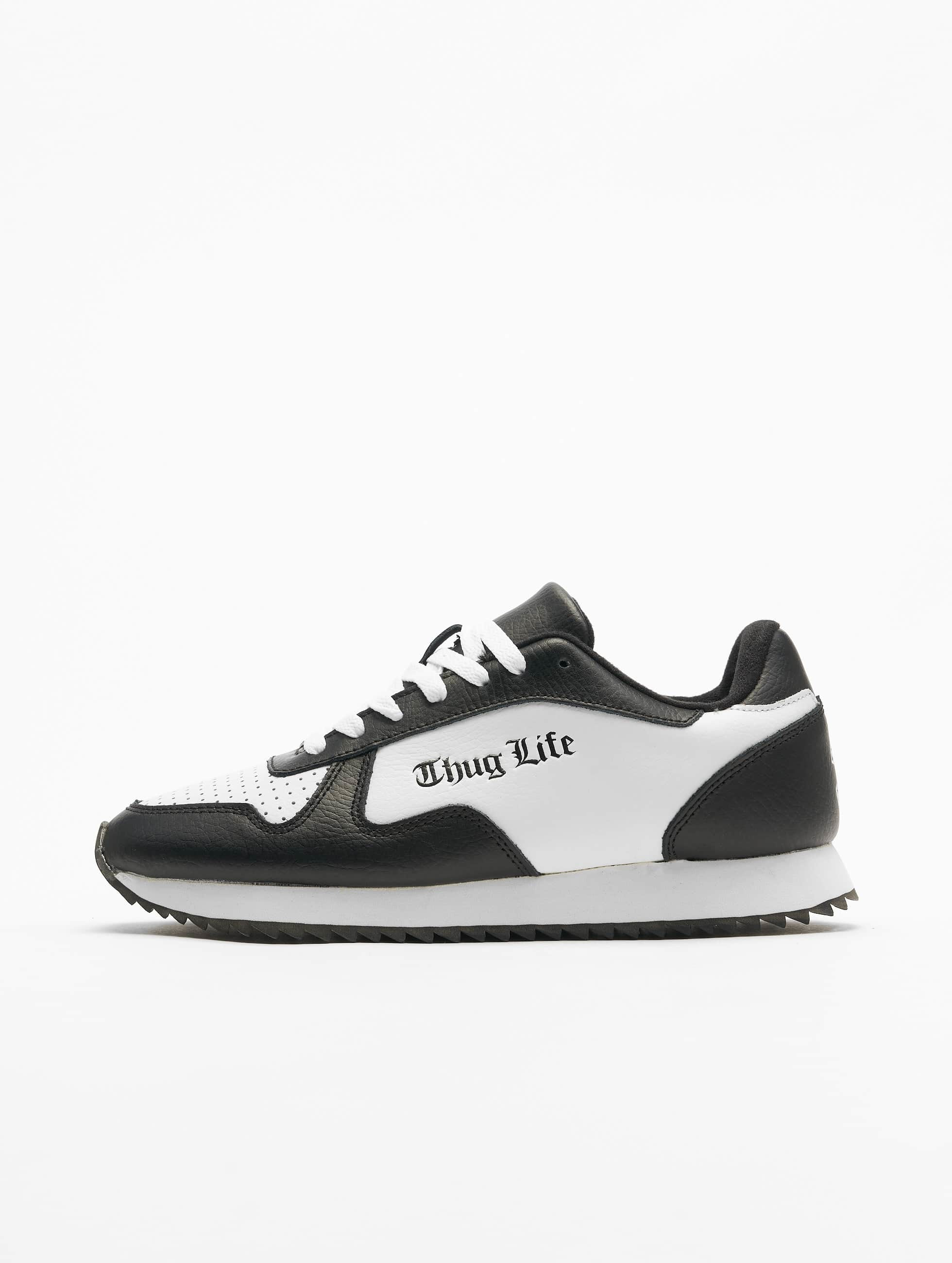 Thug Life / Sneakers 187 in white 46