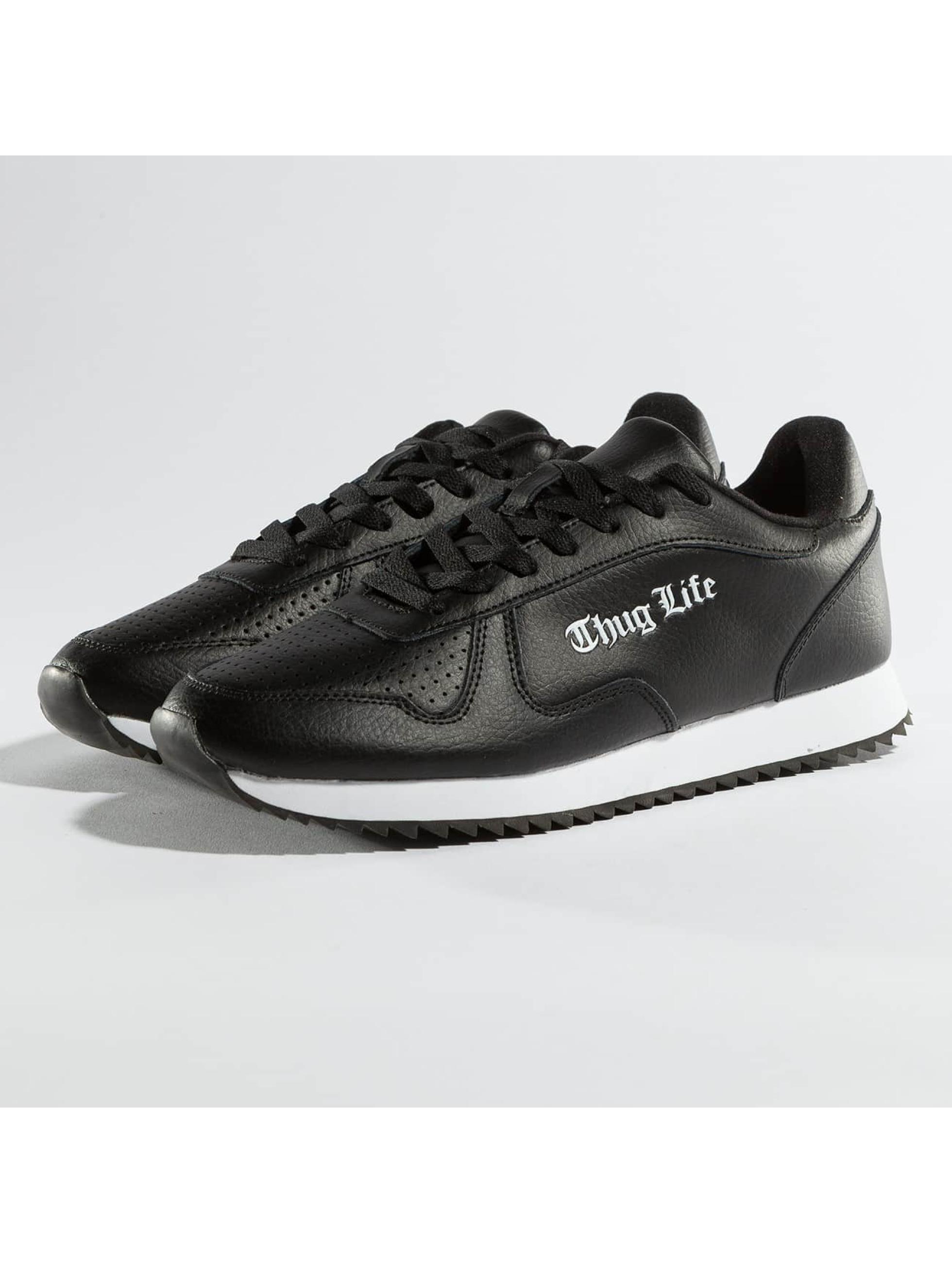 Thug Life Männer Sneaker 187 in schwarz