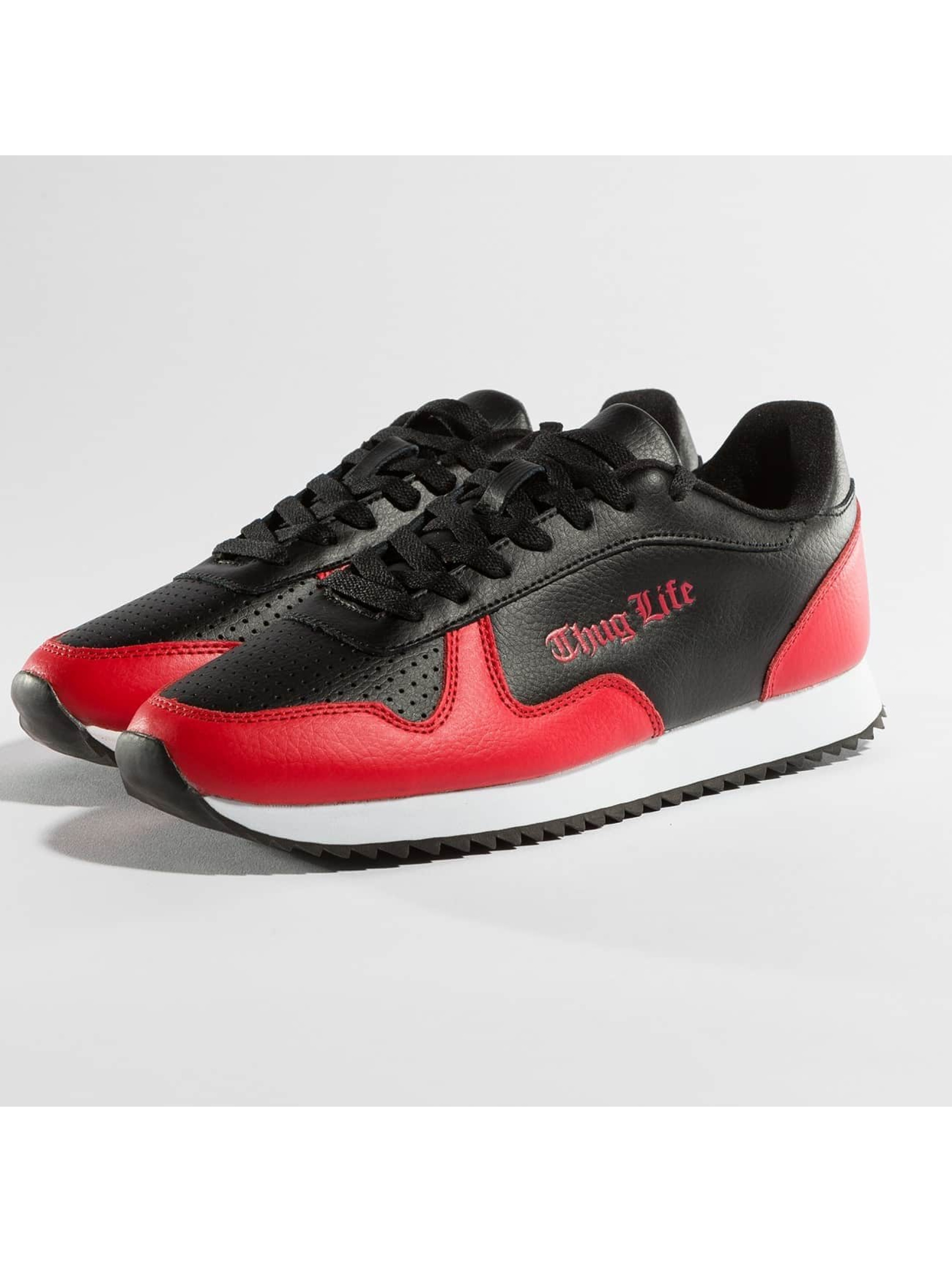 Thug Life / Sneakers 187 in red 42