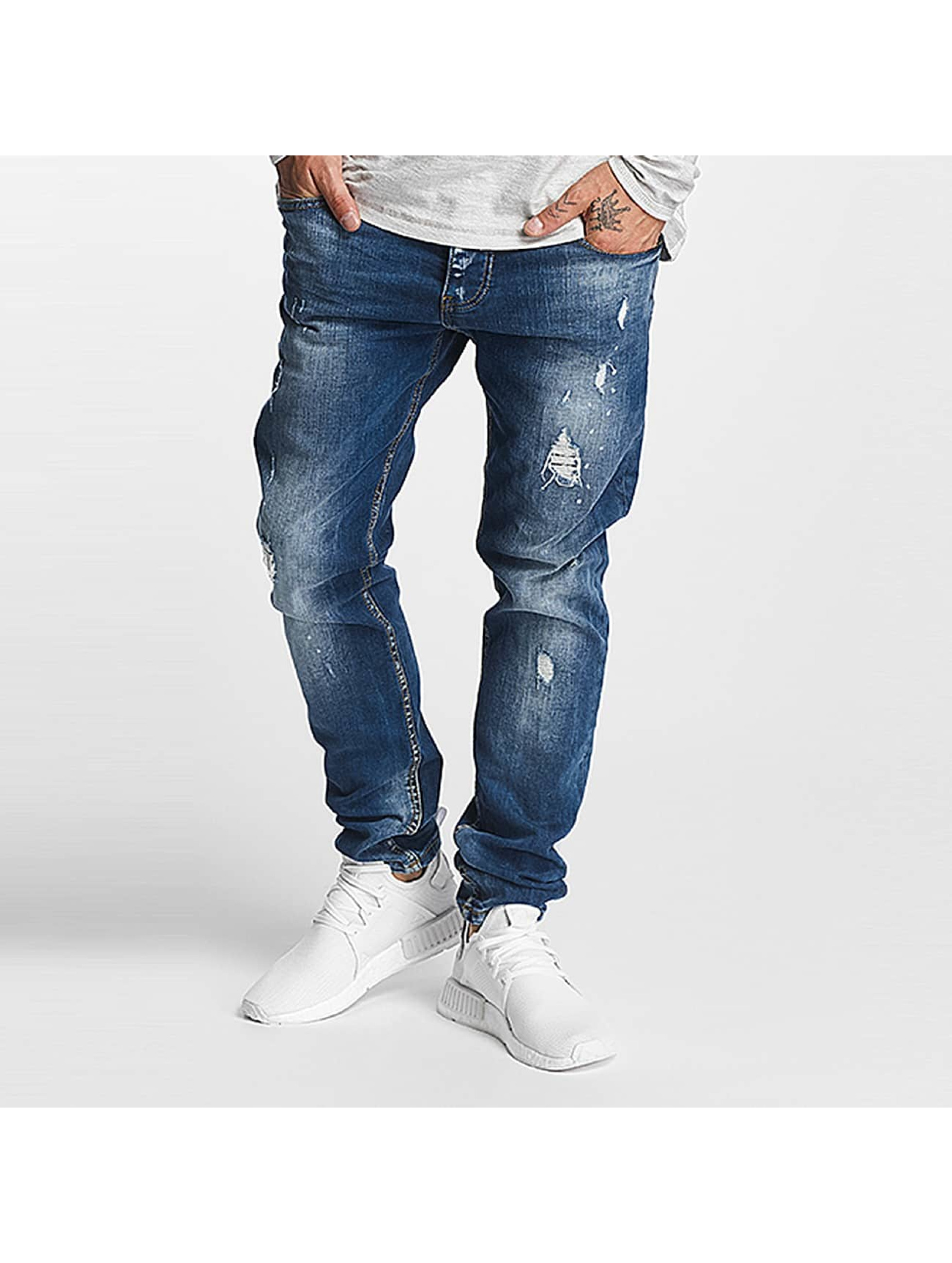 Cavallo de Ferro Männer Slim Fit Jeans Alonso in blau
