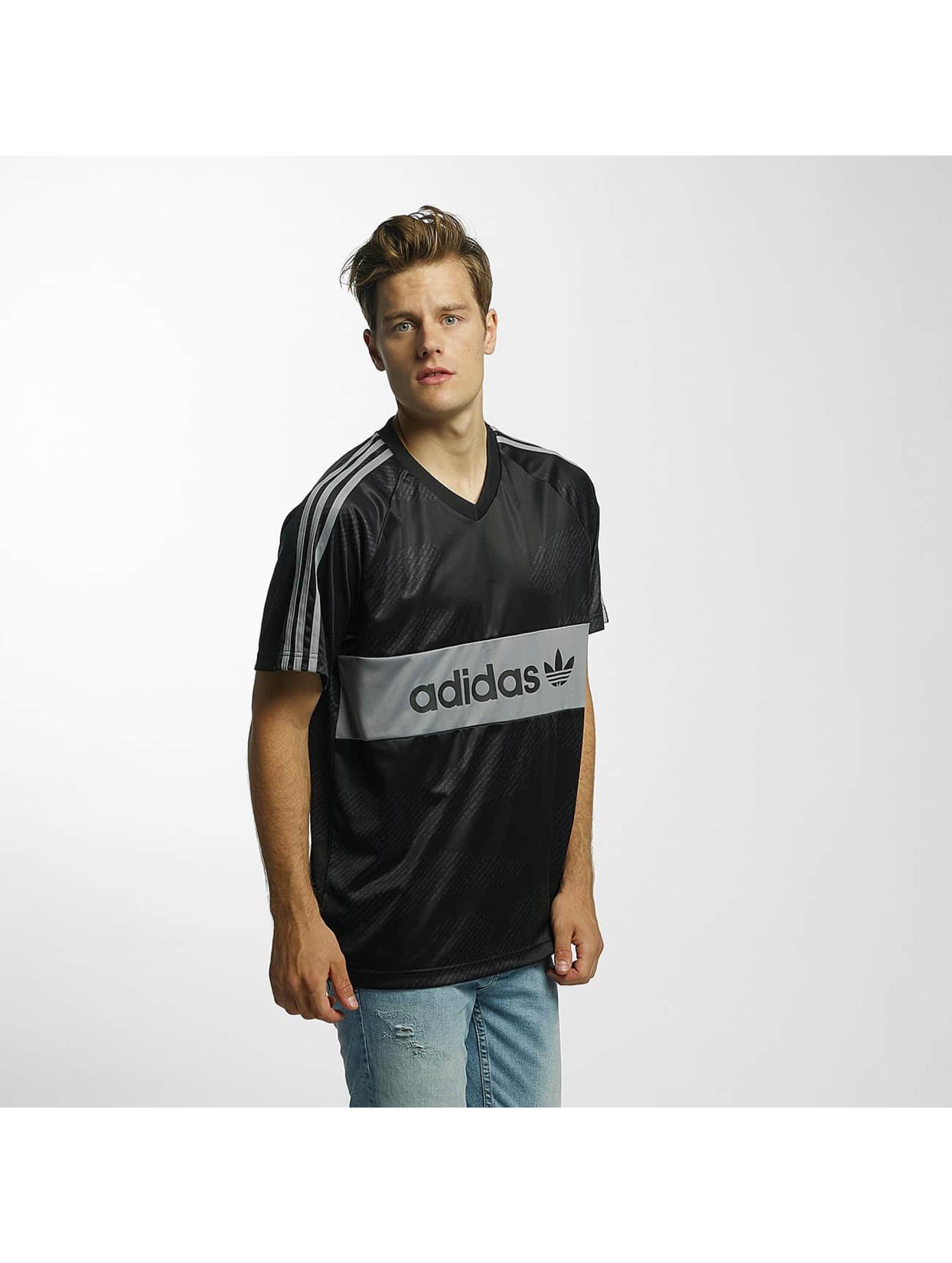 adidas Männer T-Shirt Jersey Word Camo in schwarz