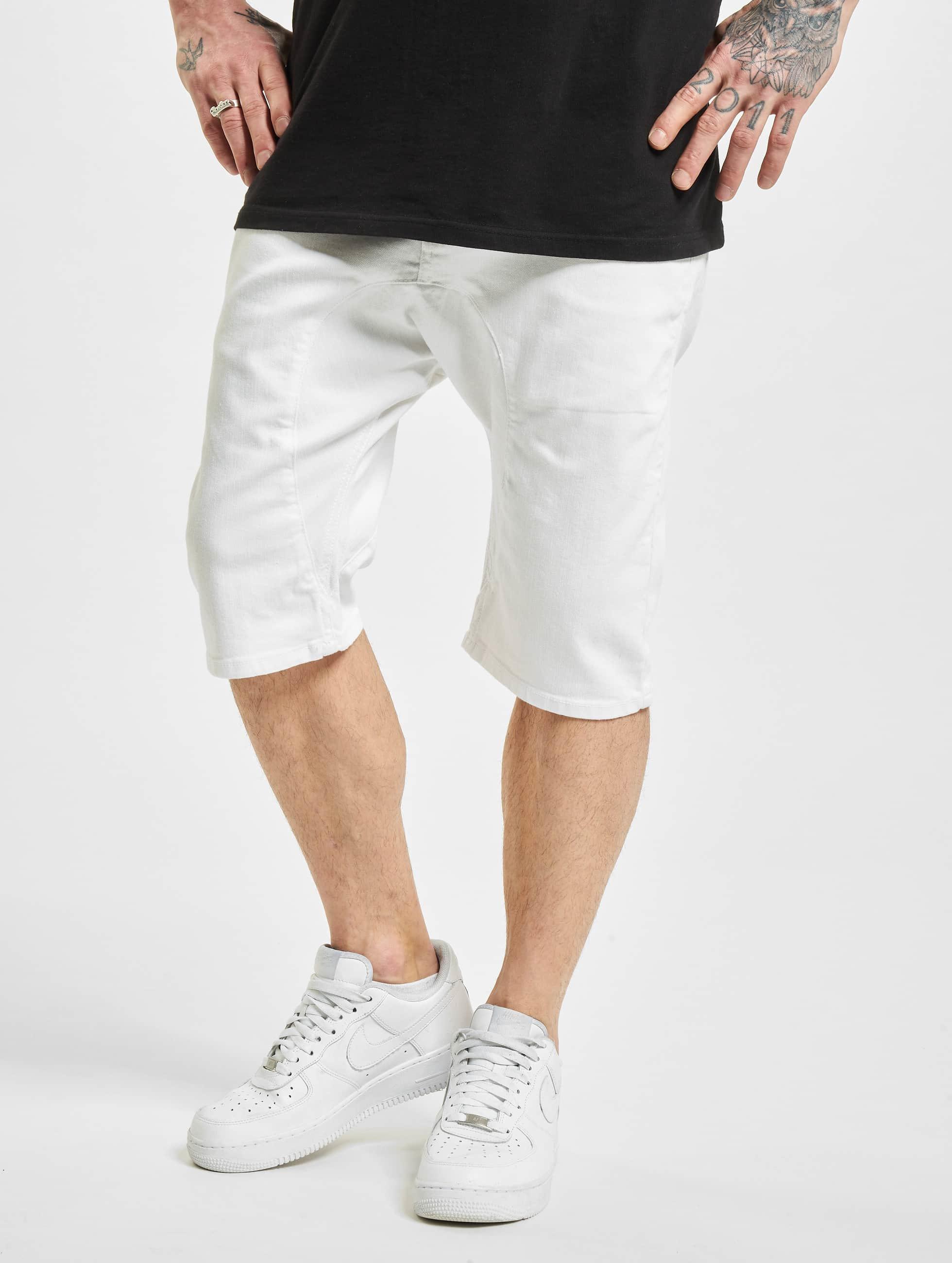 VSCT Clubwear Männer Shorts Spencer in weiß Sale Angebote Laubsdorf