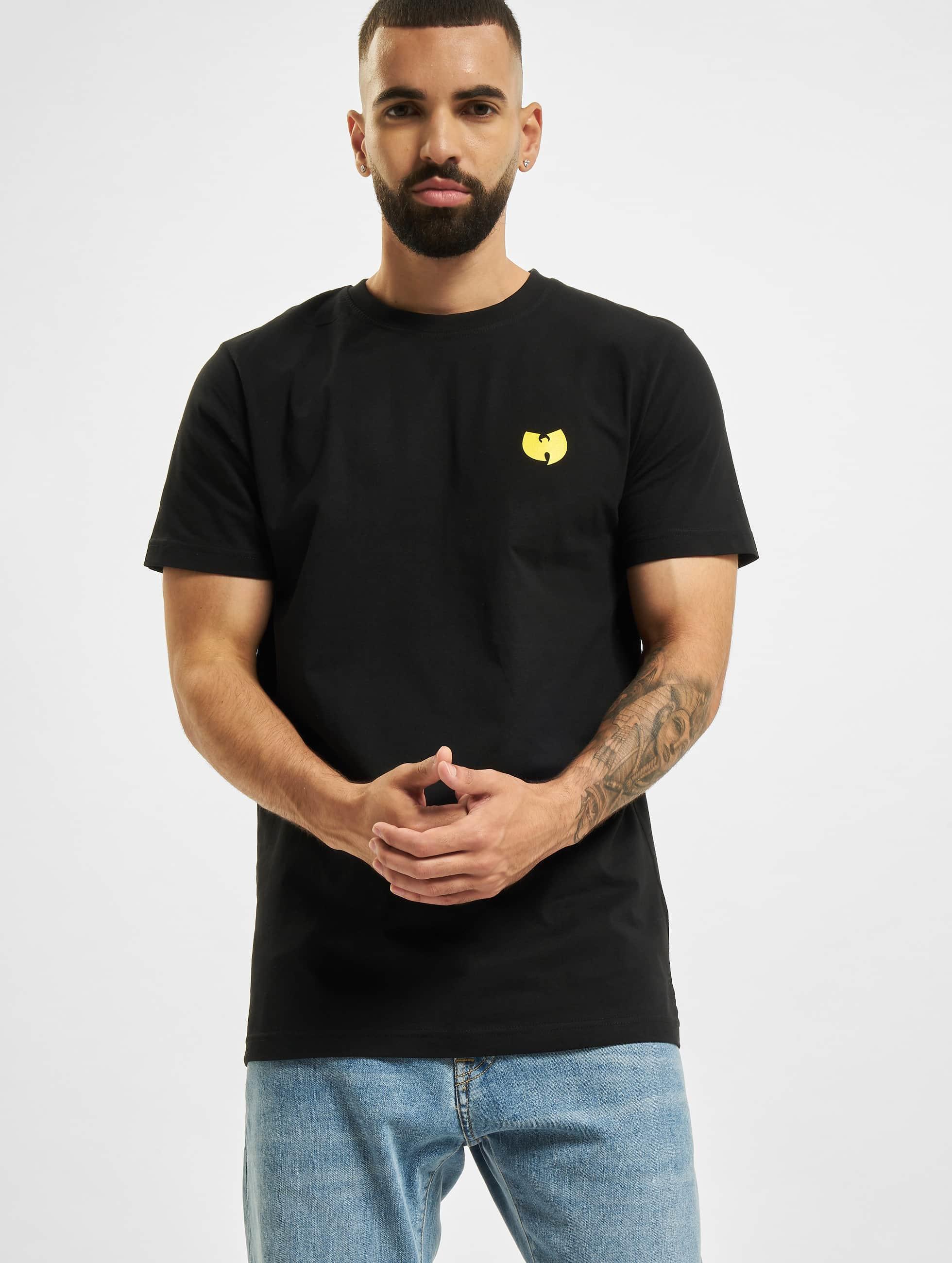 Wu-Tang Männer T-Shirt Front-Back in schwarz