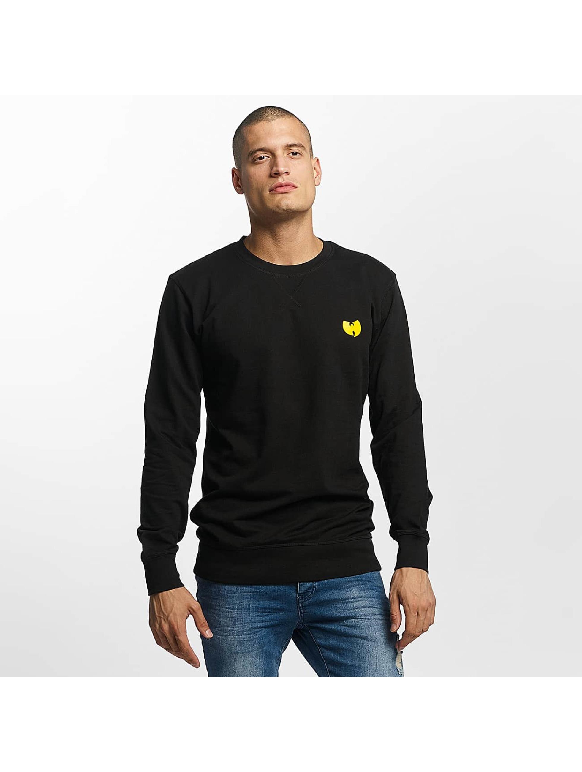 Wu-Tang Männer Pullover Front-Back in schwarz