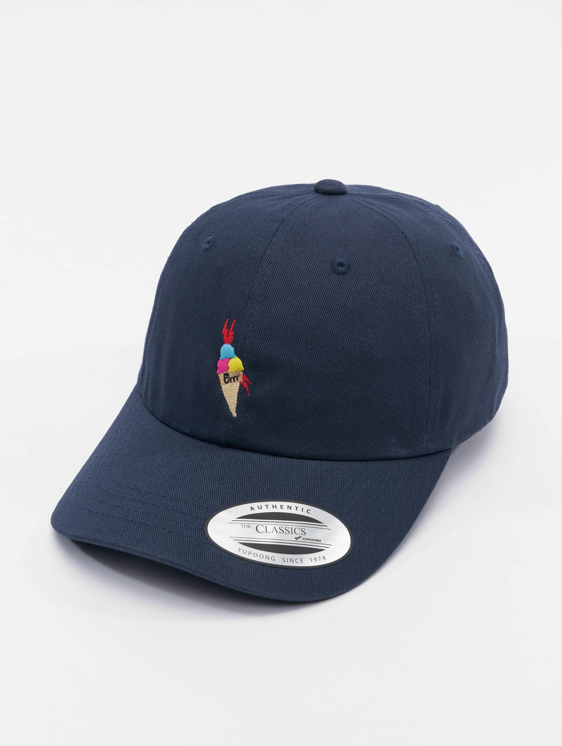 TurnUP Männer,Frauen Snapback Cap Brrr in blau