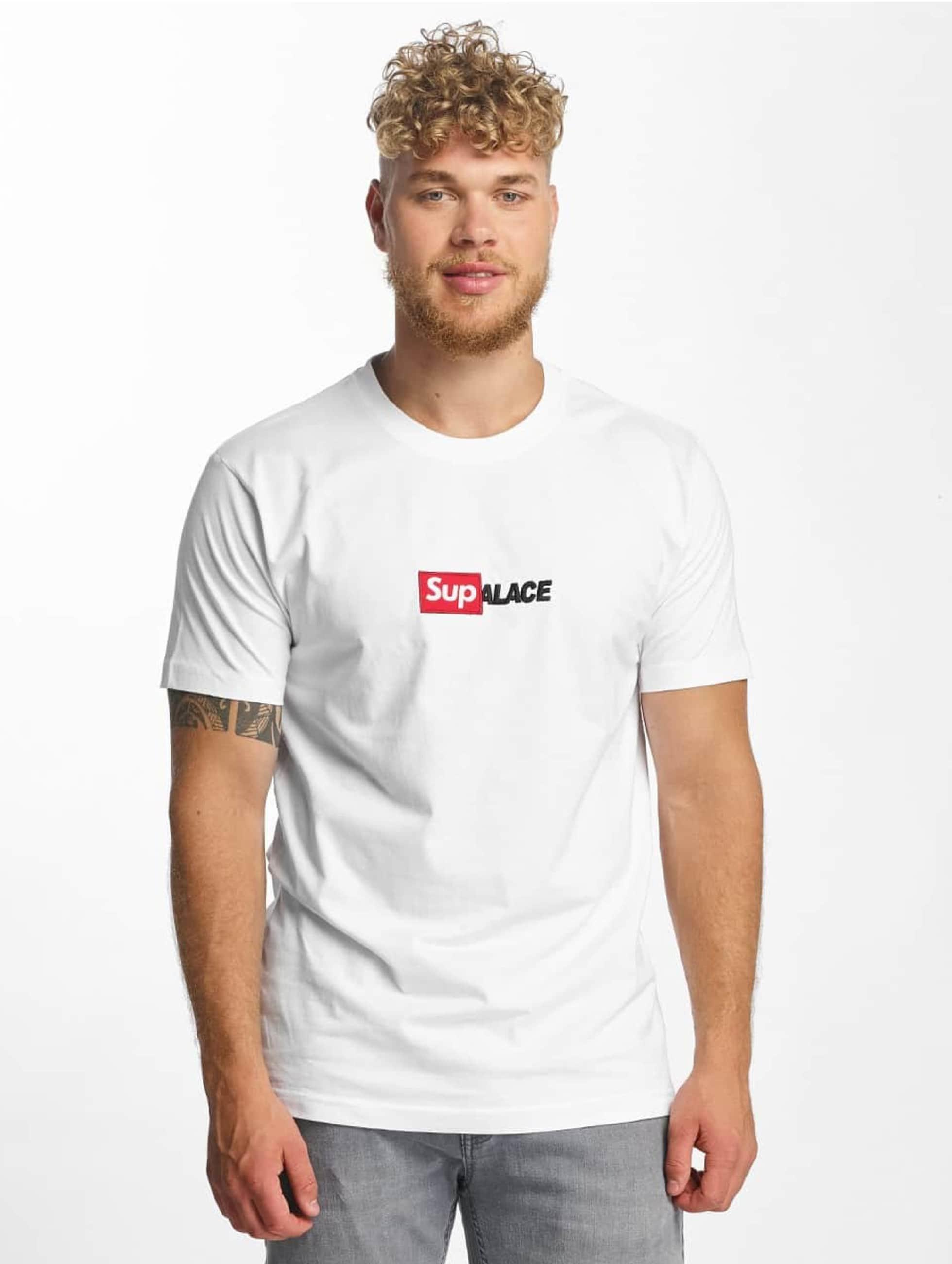 TurnUP Männer T-Shirt Collab in weiß