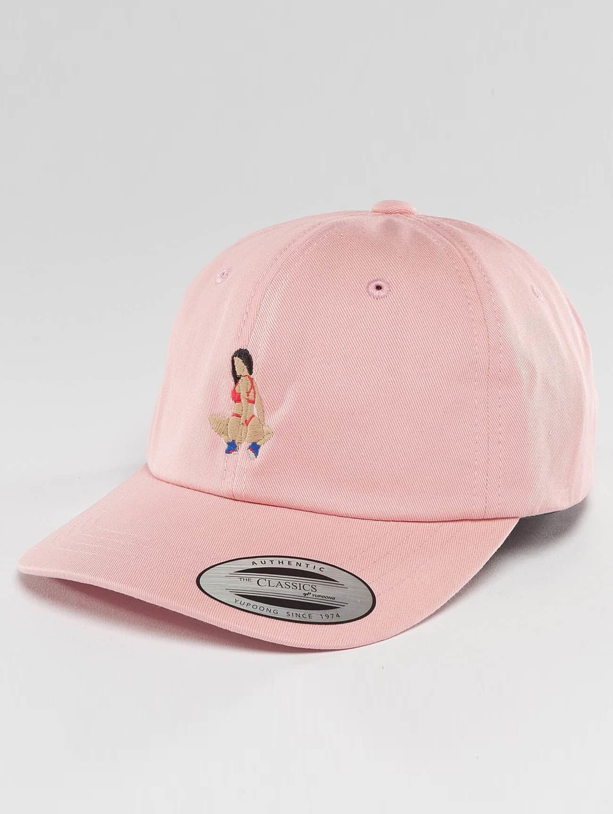 TurnUP Männer,Frauen Snapback Cap Implants in pink