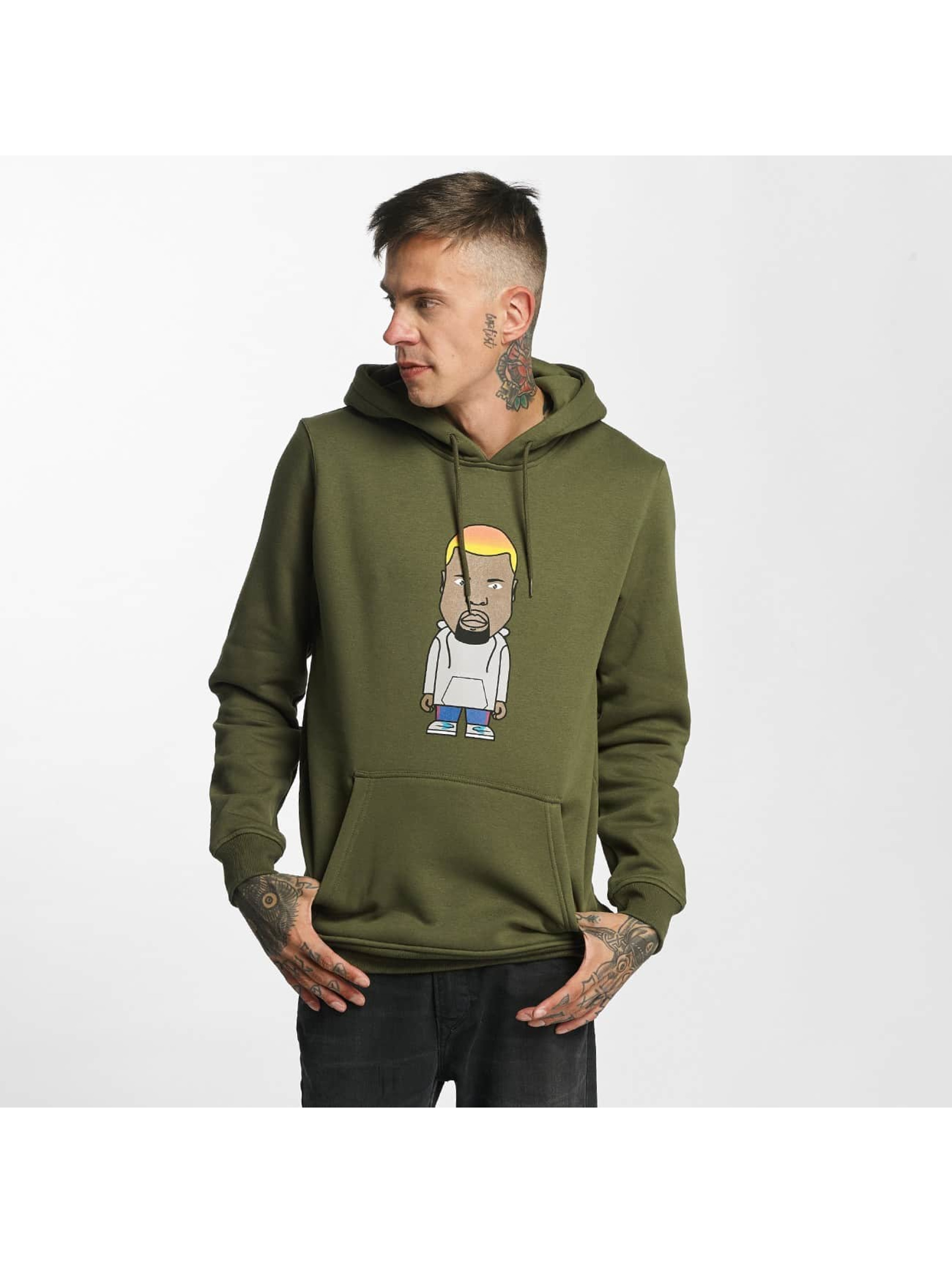 Mister Tee Männer Hoody Name One in olive