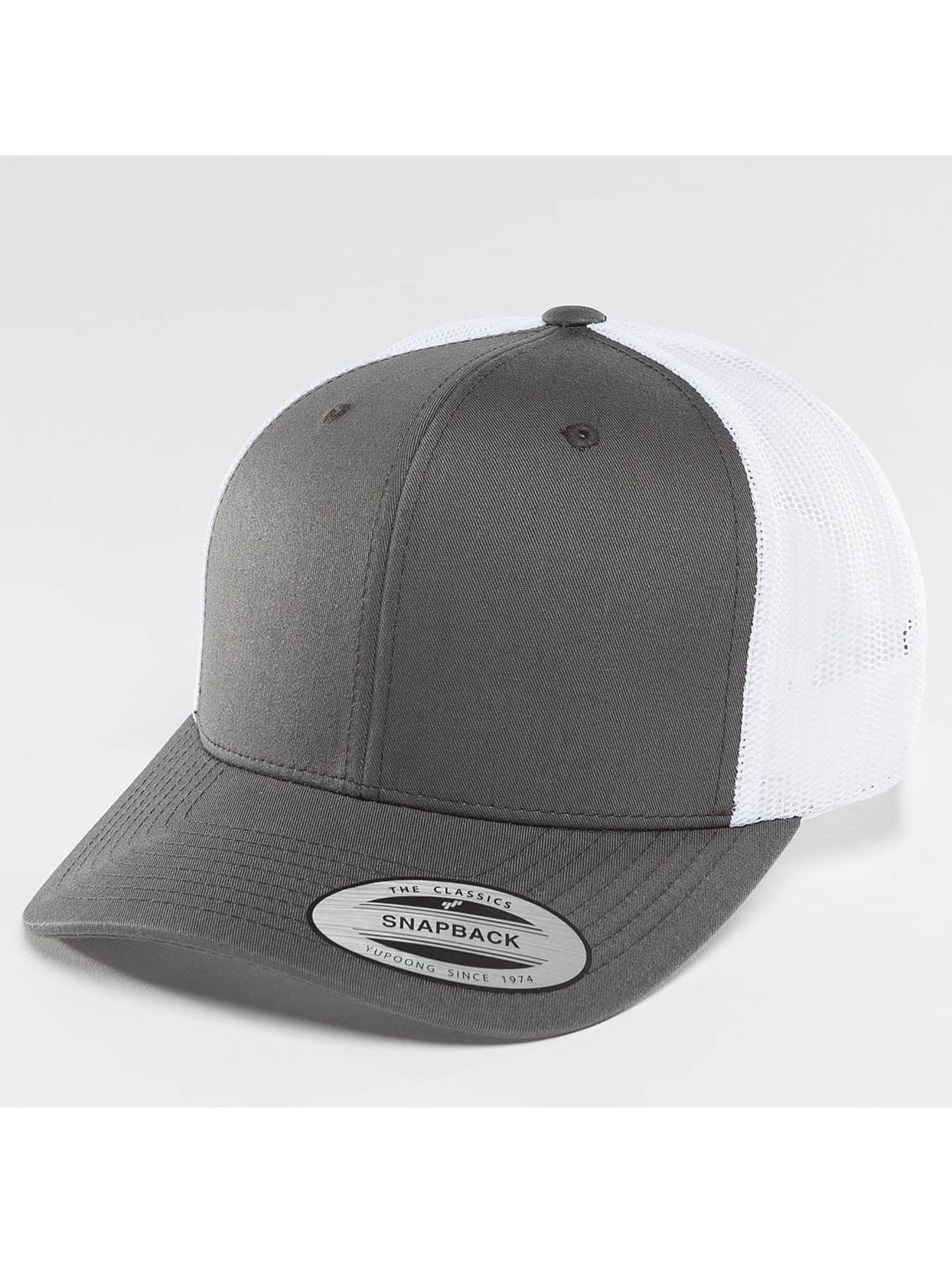 Flexfit / Trucker Cap Retro in grey
