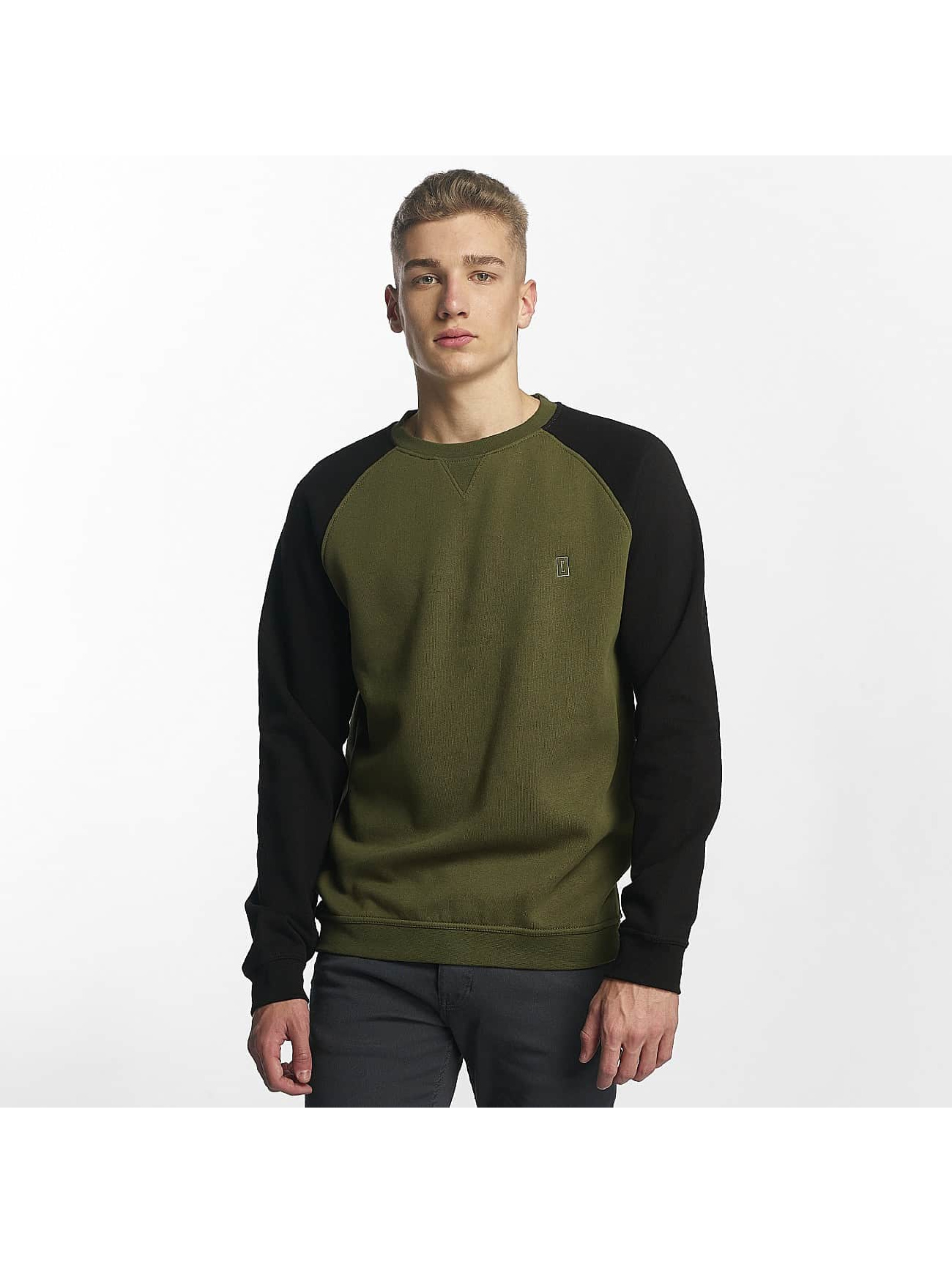Cyprime / Jumper Basic in green XL