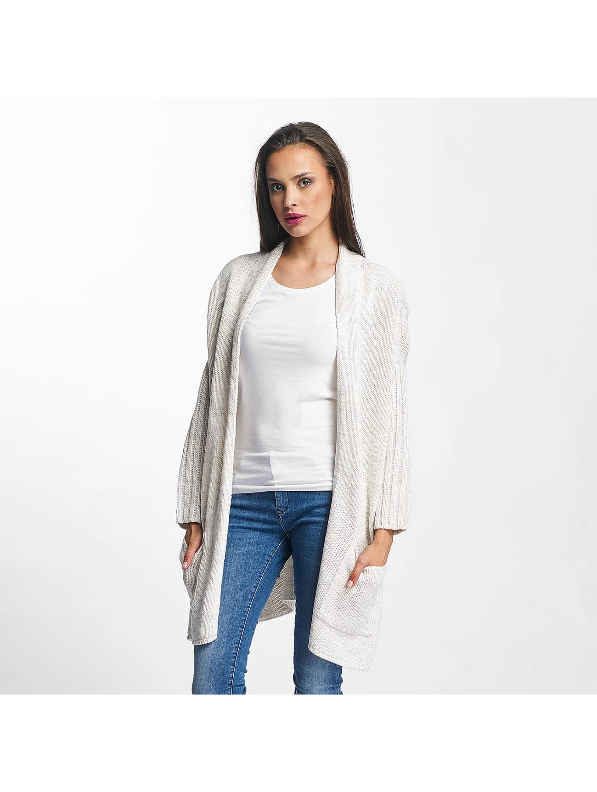 Urban Classics Frauen Strickjacke Oversized in weiß