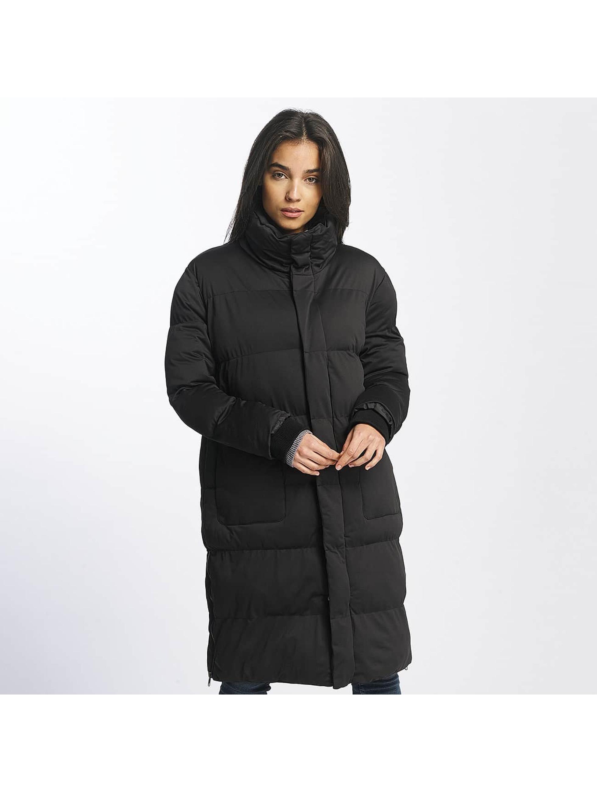 Urban Classics Frauen Mantel Oversized Puffer in schwarz