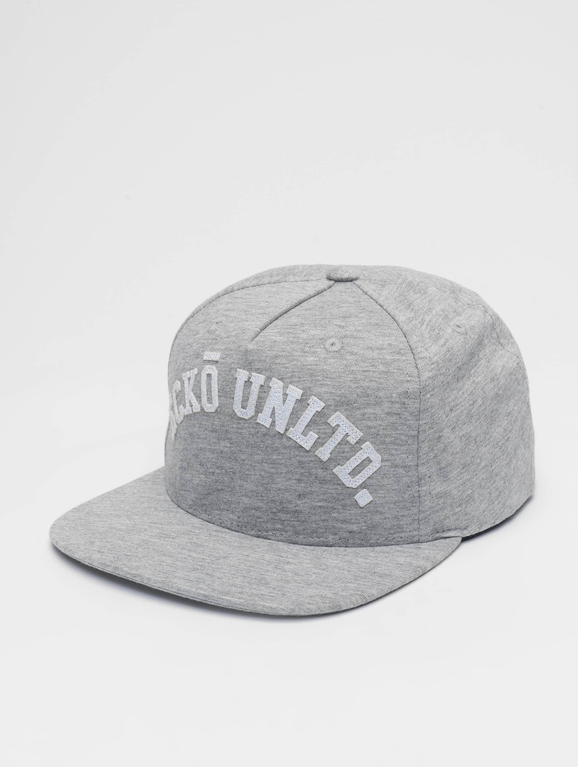 Ecko Unltd. | Melange College gris Homme,Femme Casquette Snapback & Strapback
