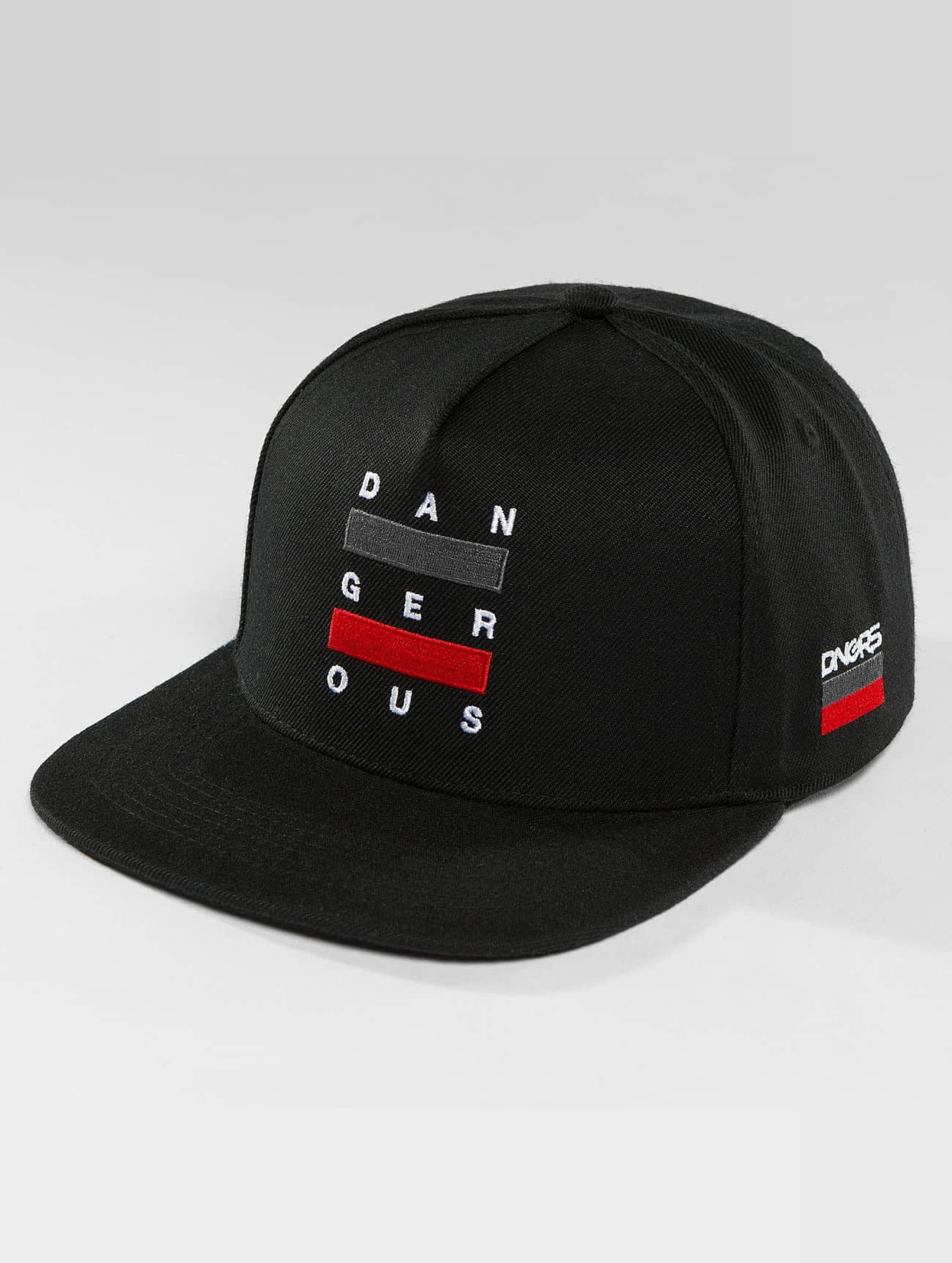Dangerous DNGRS / Snapback Cap Uncaged in black one size