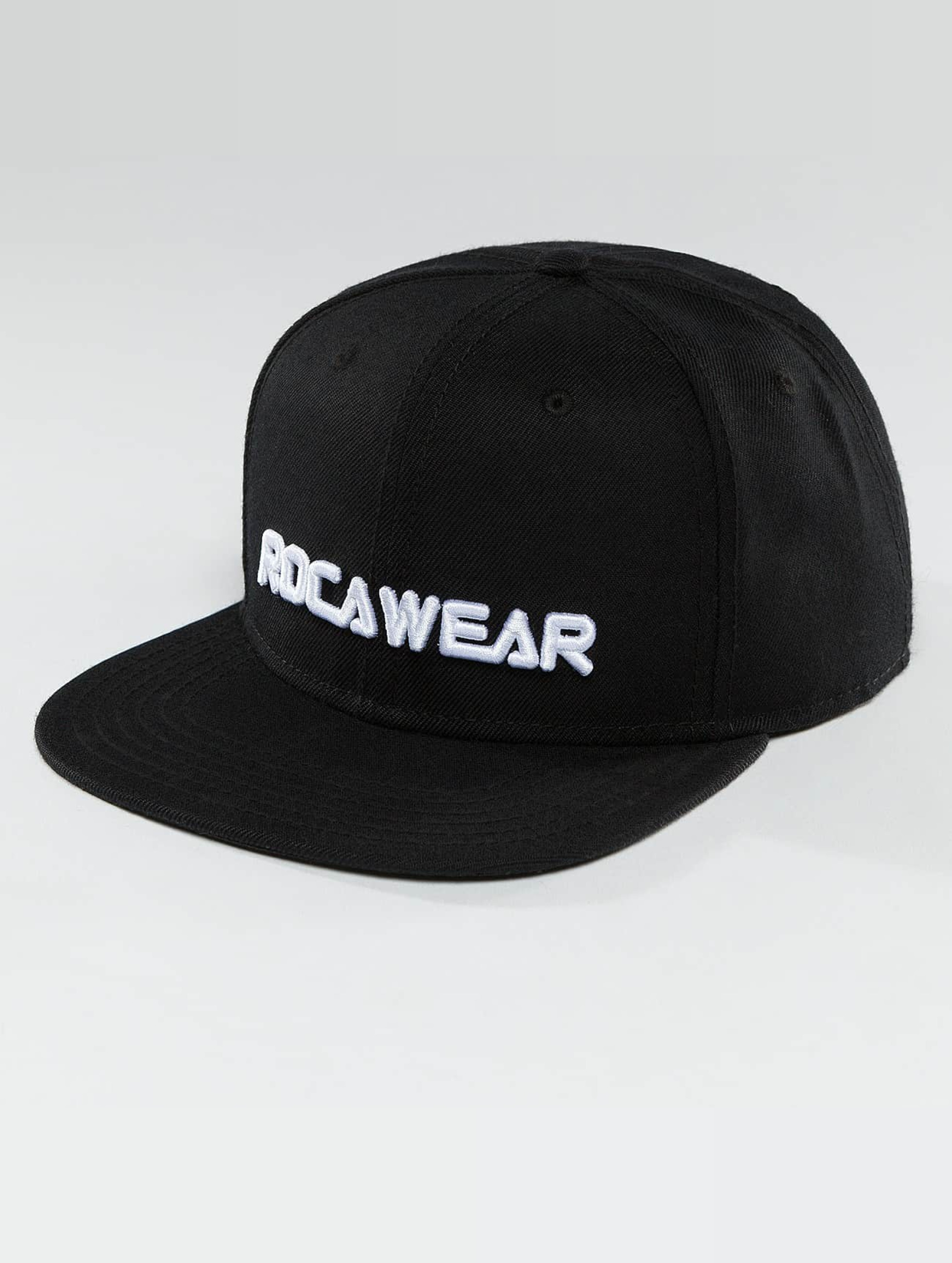 Rocawear / Snapback Cap BLNCTY in black One Size