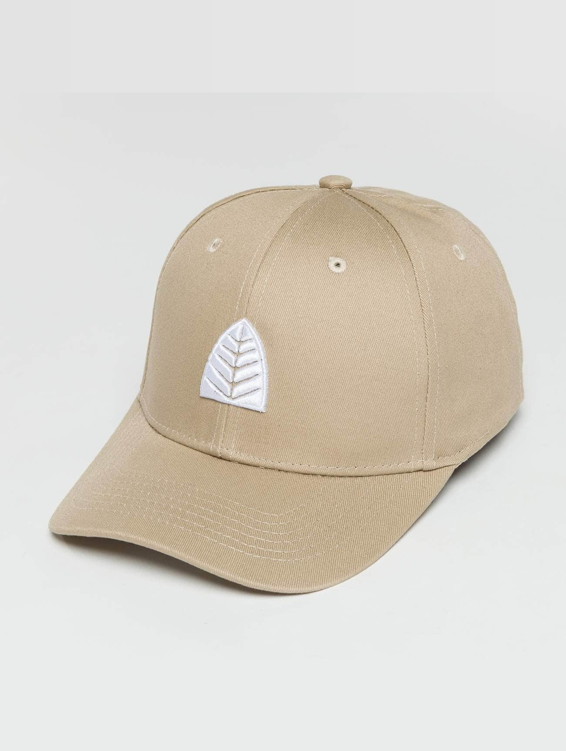 Just Rhyse / Snapback Cap Pangoa in beige Adjustable