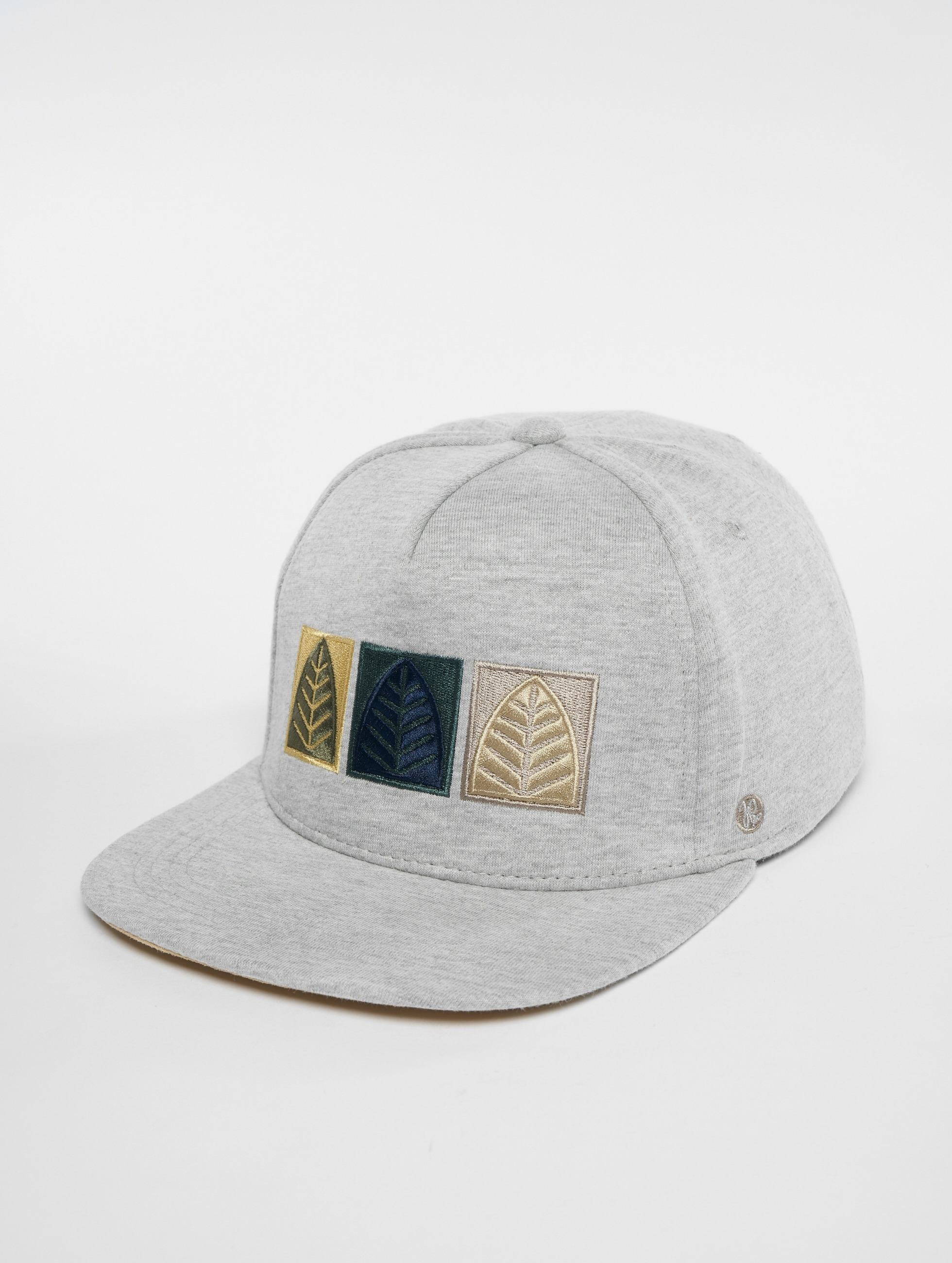 Just Rhyse / Snapback Cap Rhyser in grey One Size