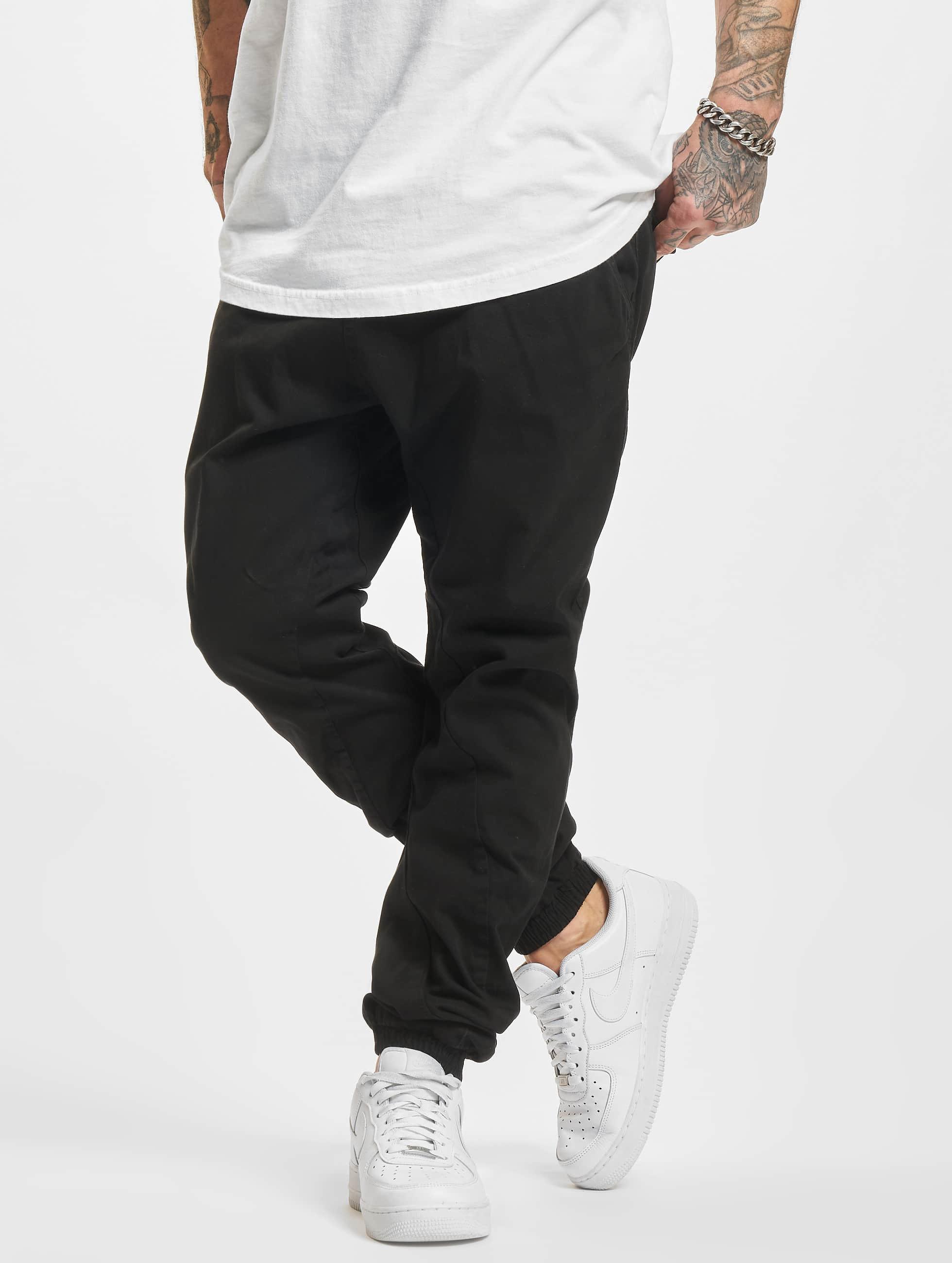 Urban Classics Männer Jogginghose Stretch in schwarz