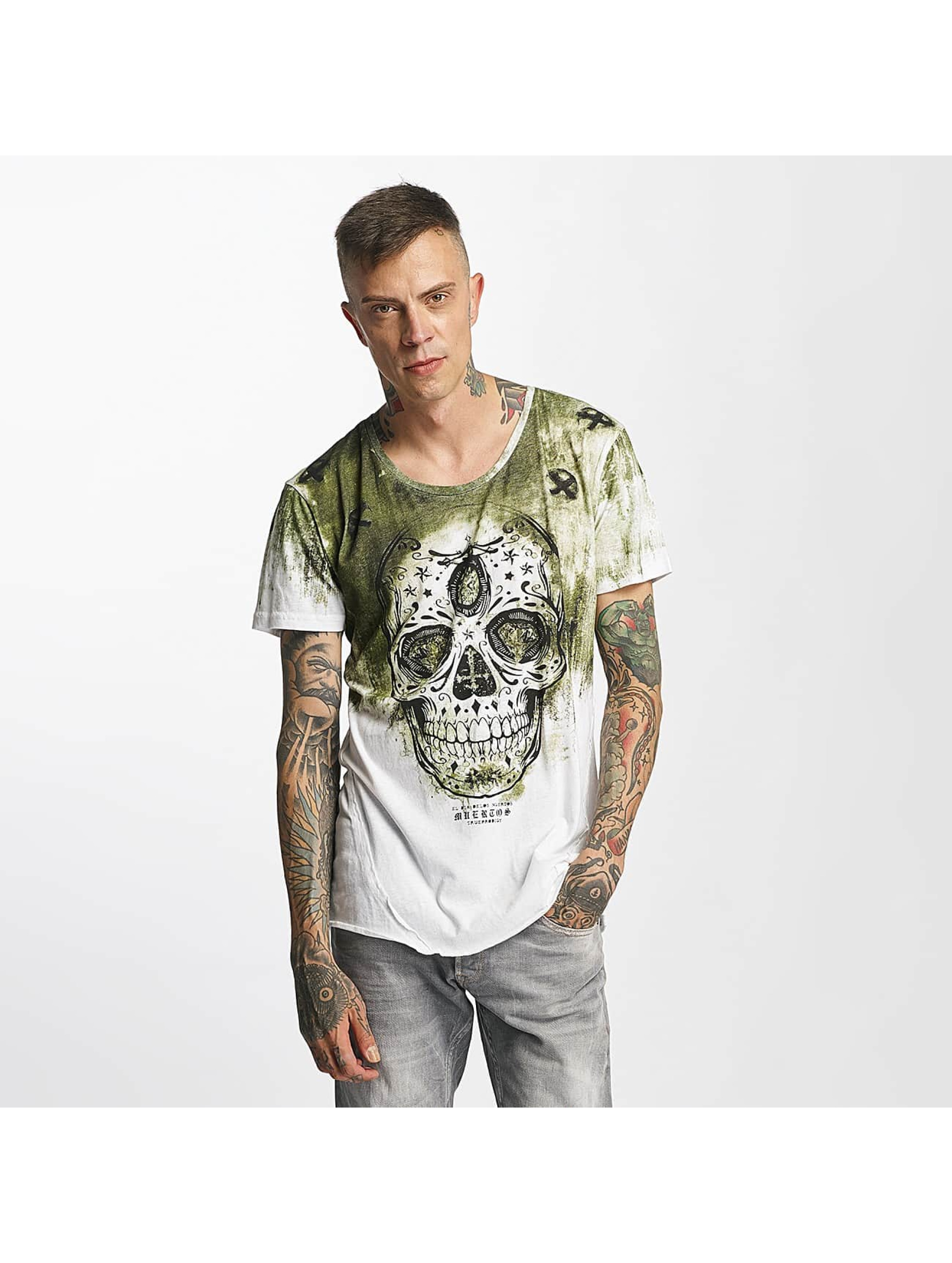 trueprodigy Männer T-Shirt Skull in grün