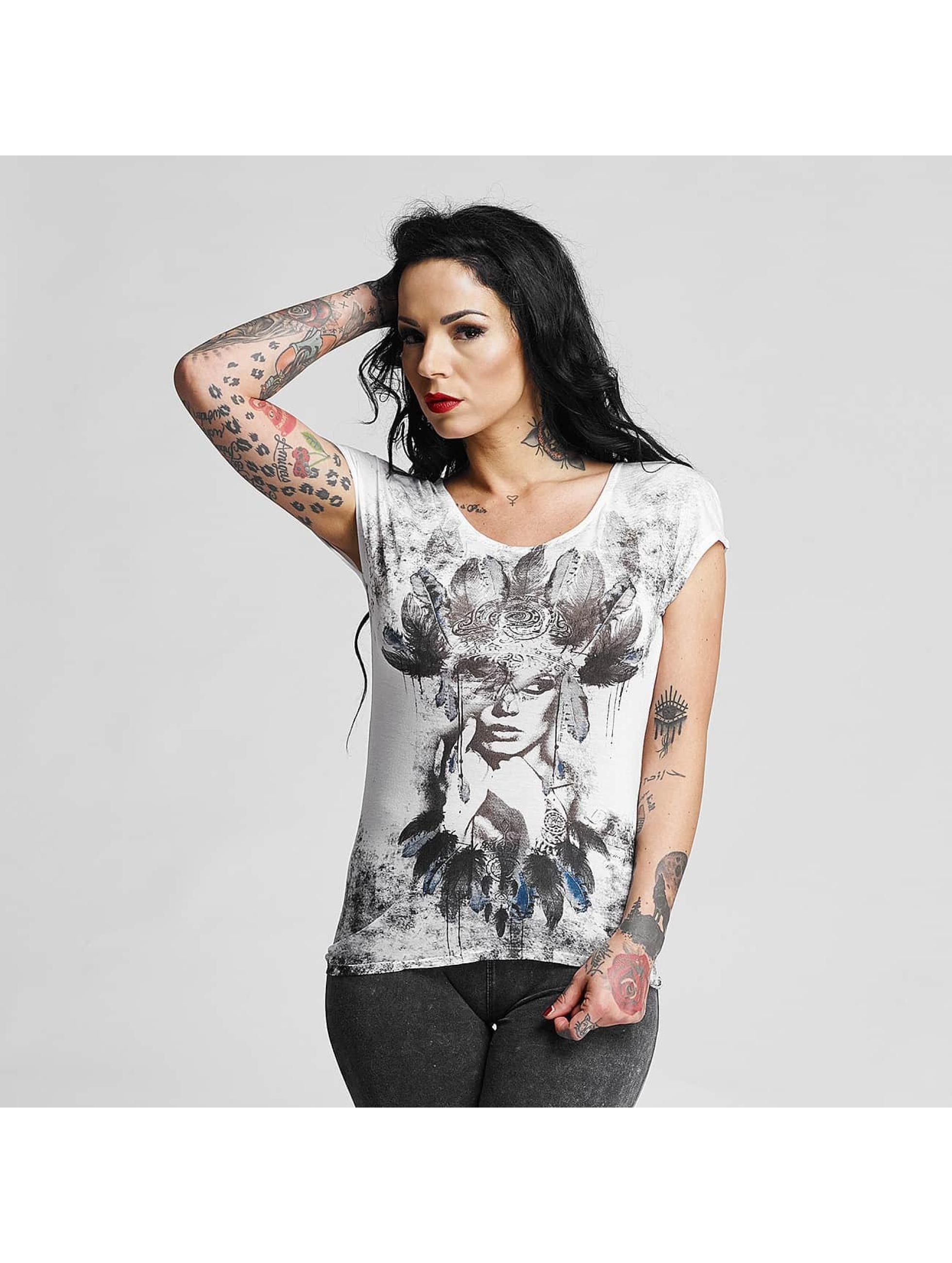 trueprodigy Frauen T-Shirt Native in grau