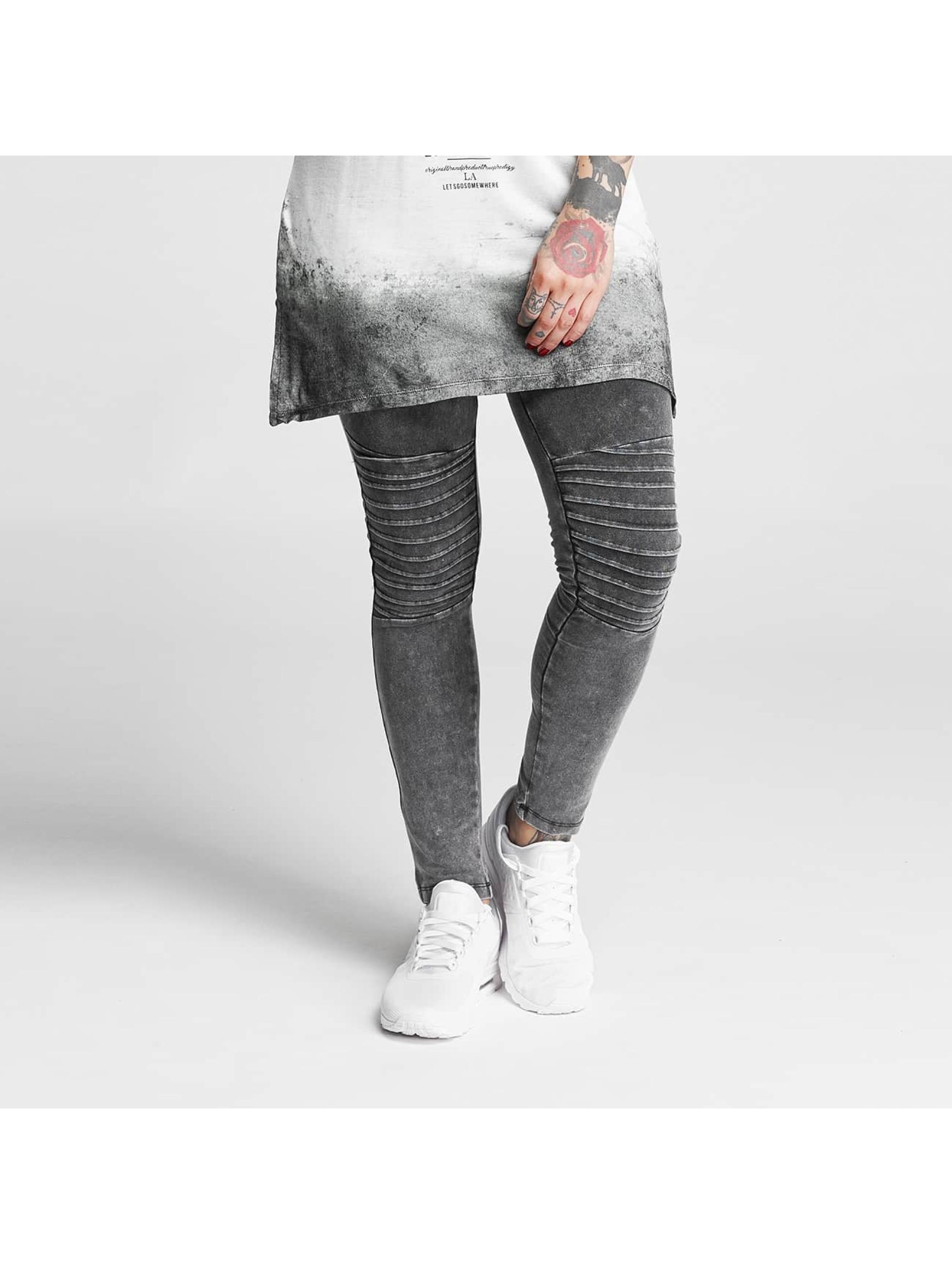 trueprodigy Frauen Legging Kanani in grau