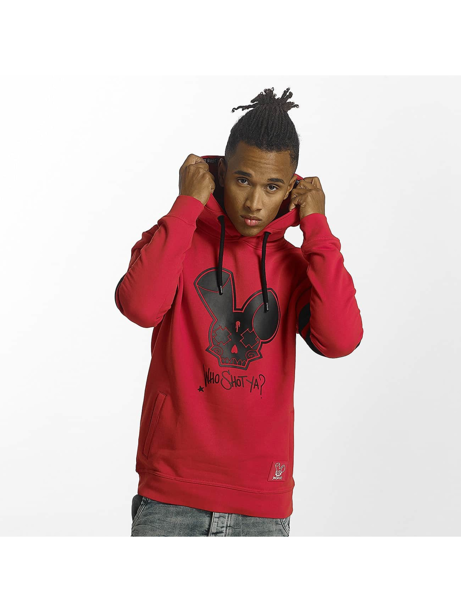 Who Shot Ya? / Hoodie Royal Gunz in red S